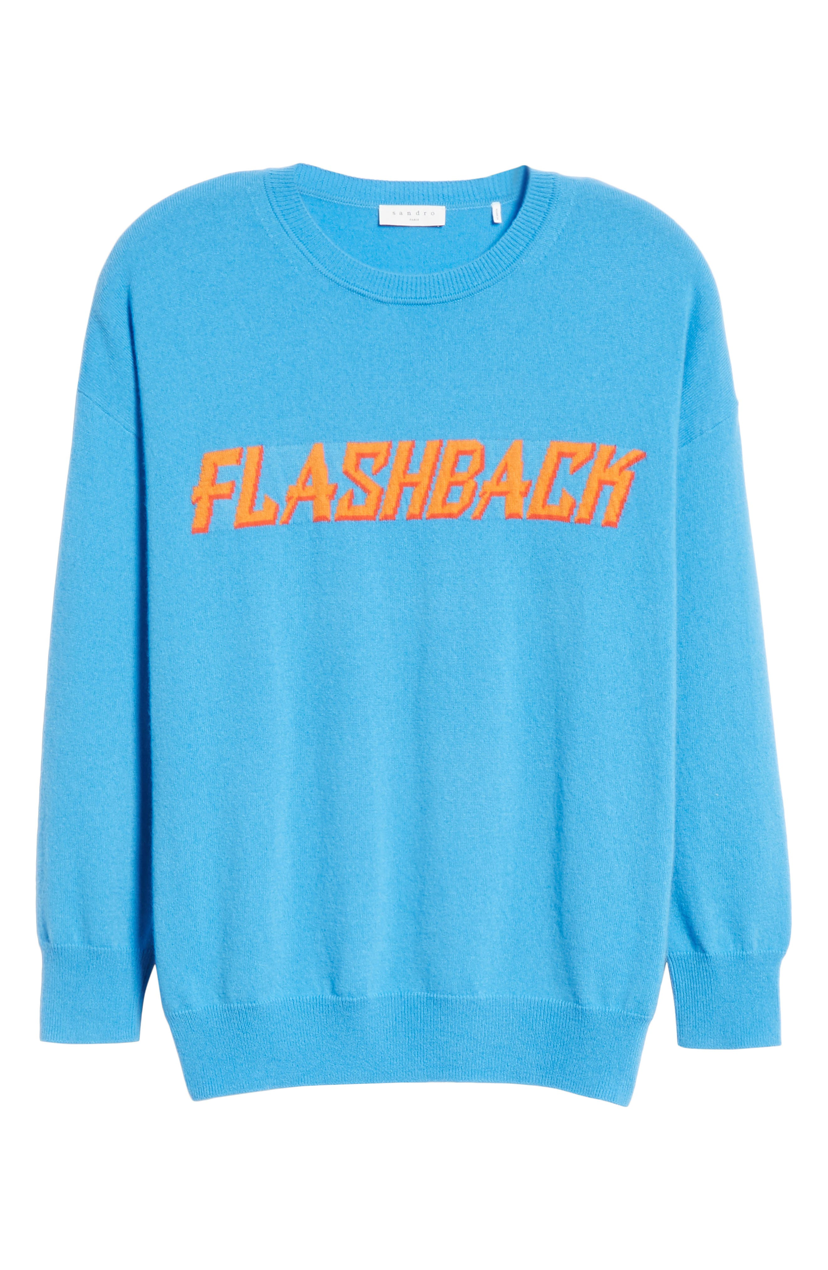 Flashback Wool & Cashmere Sweater,                             Alternate thumbnail 6, color,                             400