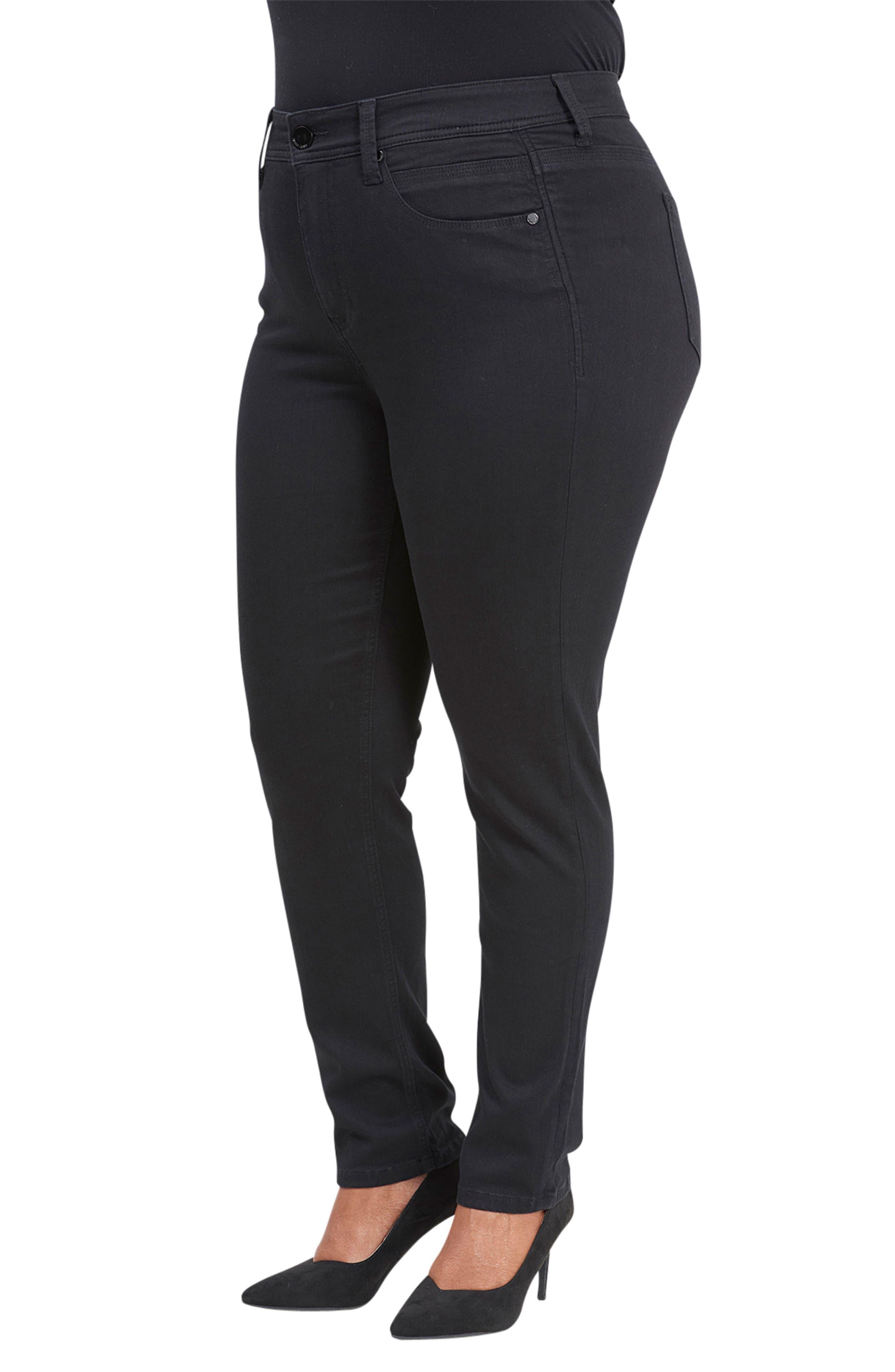 Tummyless High Rise Skinny Jeans,                             Alternate thumbnail 3, color,                             NUIT