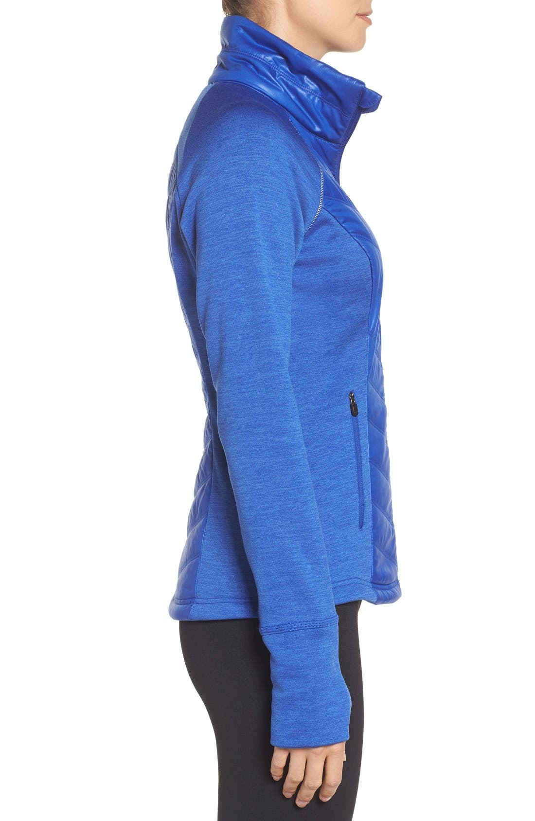 Zelfusion Reflective Quilted Jacket,                             Alternate thumbnail 26, color,