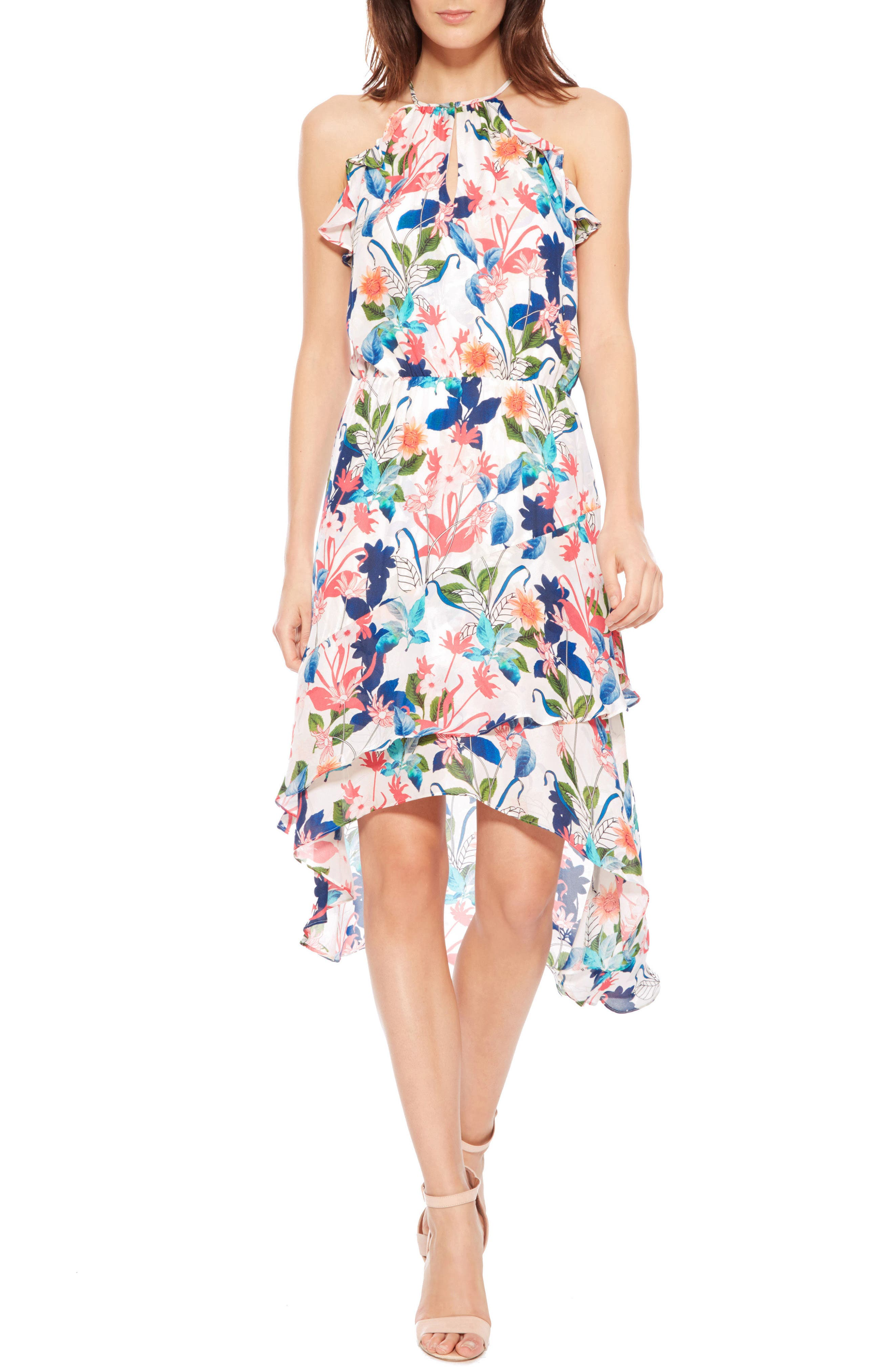 Allister Silk Dress,                         Main,                         color, 170