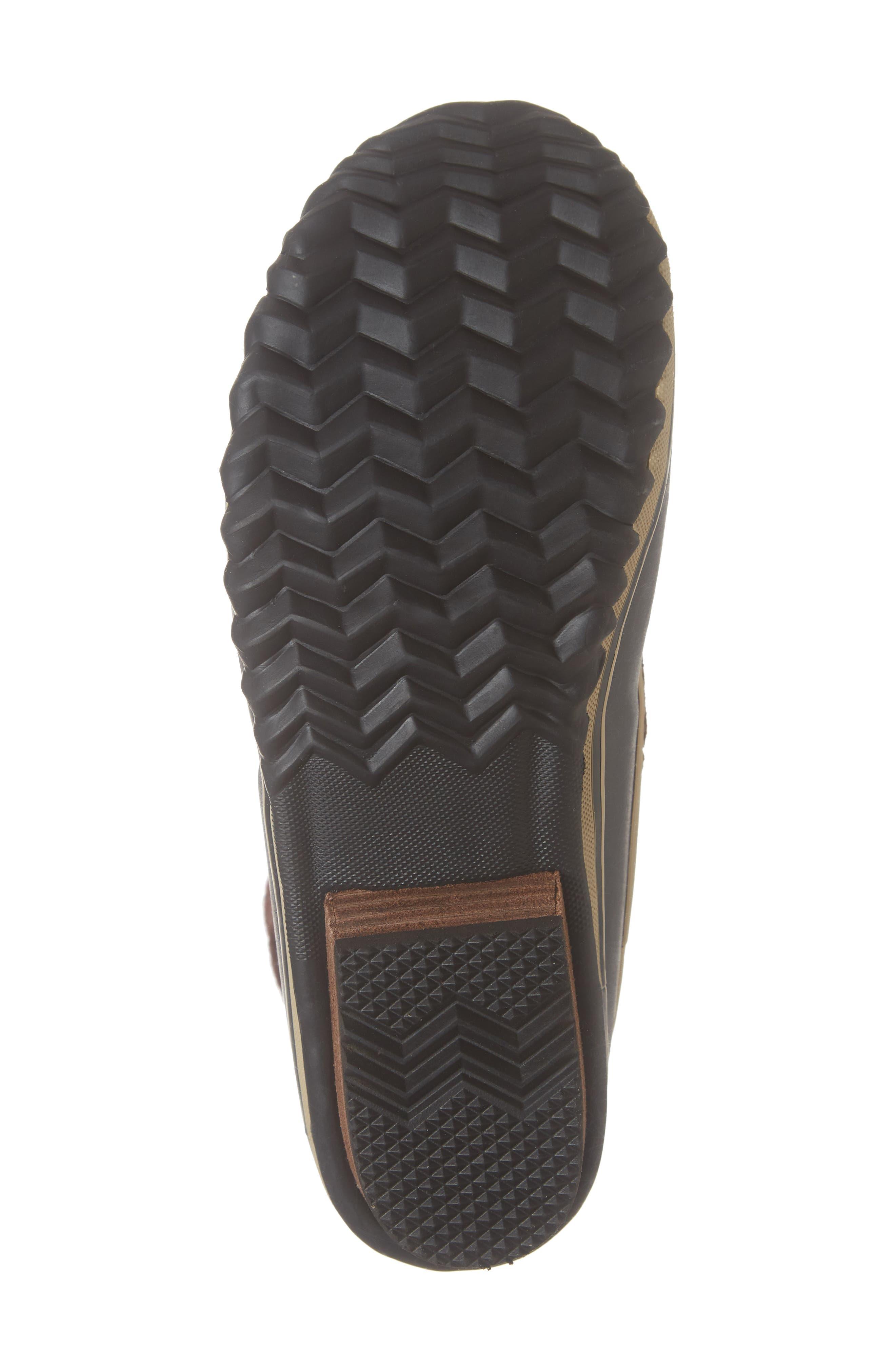 SOREL,                             Slimpack II Waterproof Boot,                             Alternate thumbnail 6, color,                             BURRO/ CATTAIL