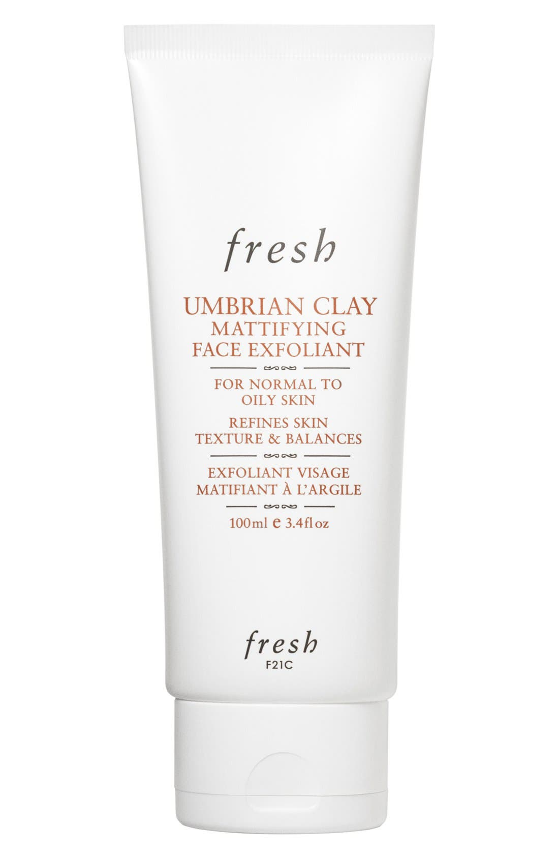 FRESH<SUP>®</SUP>,                             Umbrian Clay Mattifying Face Exfoliant,                             Main thumbnail 1, color,                             NO COLOR
