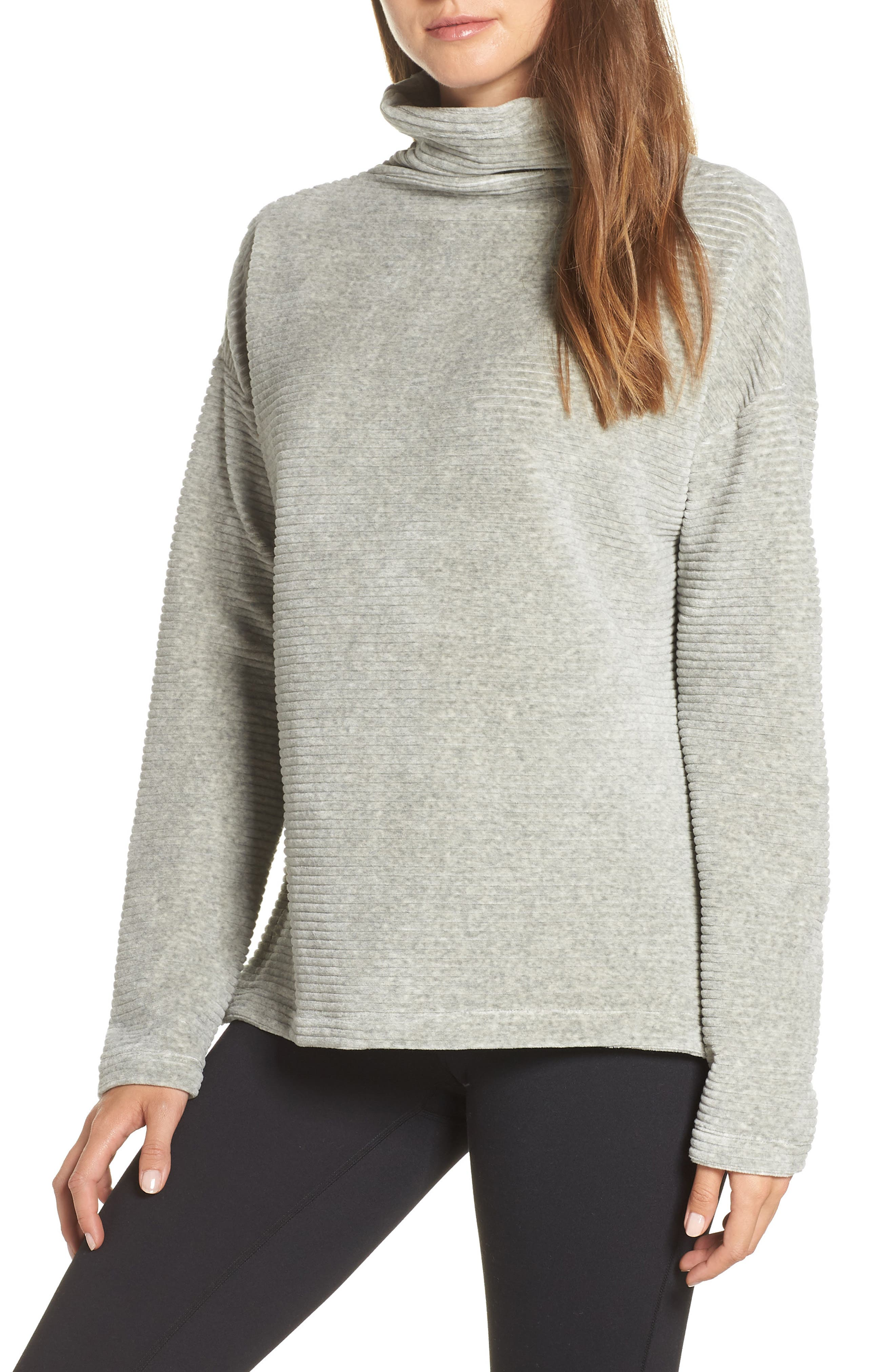 Bright Side Pullover,                         Main,                         color, GREY CRYSTAL