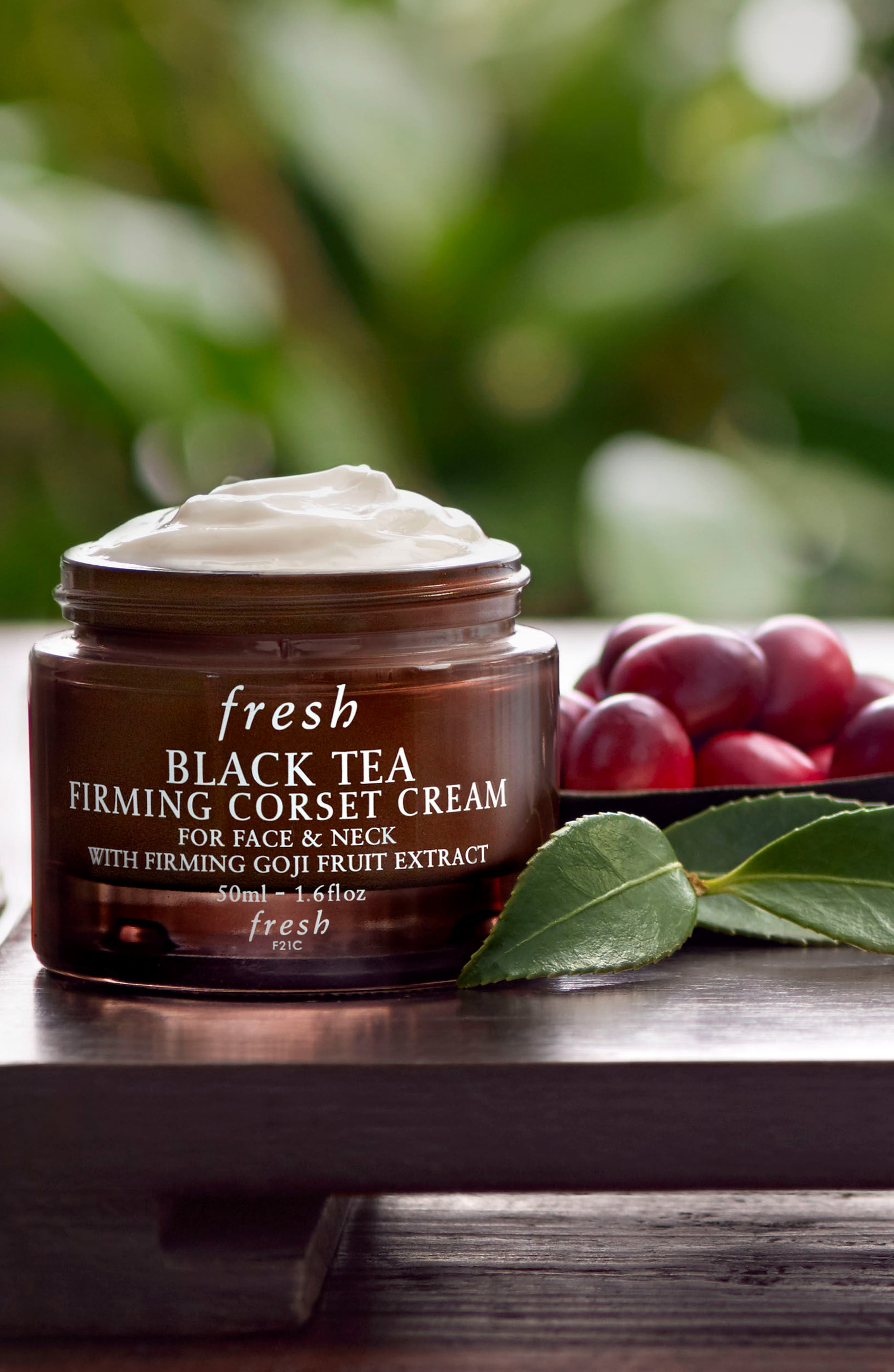 Black Tea Firming Corset Cream,                             Alternate thumbnail 7, color,                             NO COLOR