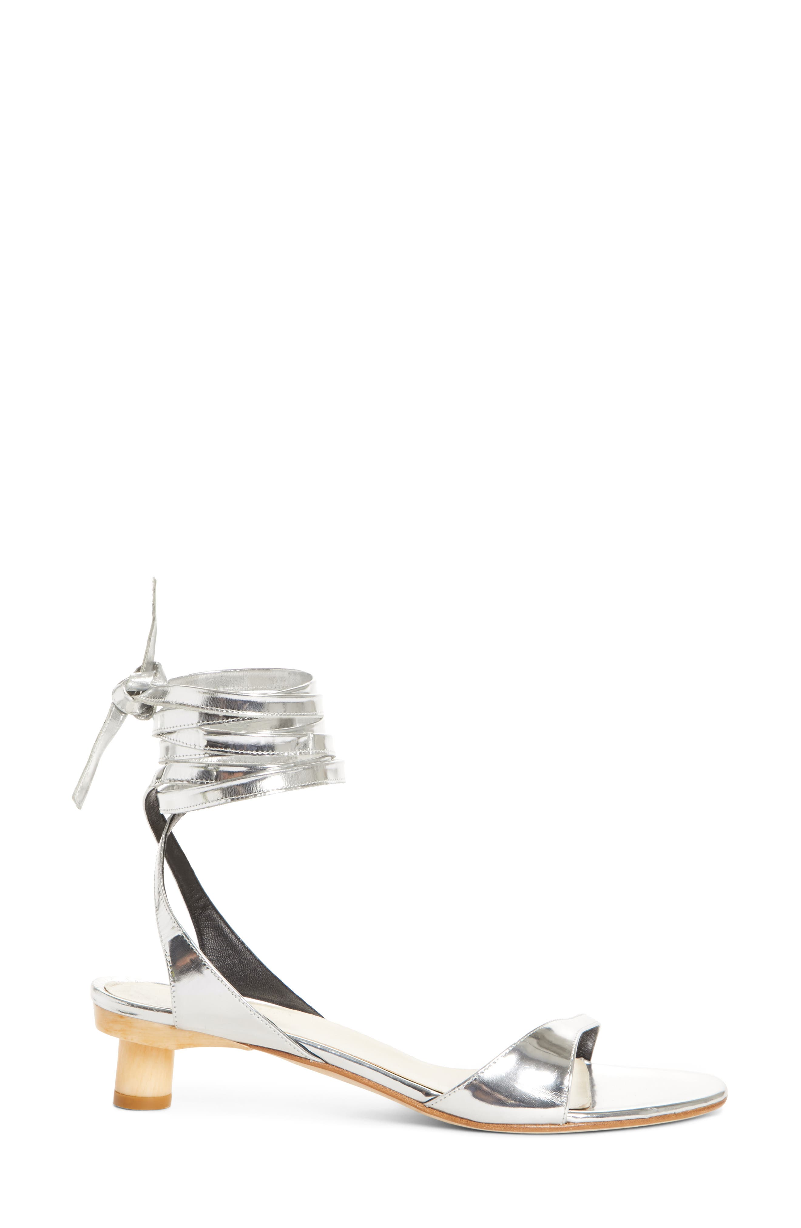 TIBI,                             Scott Ankle Tie Sandal,                             Alternate thumbnail 3, color,                             042
