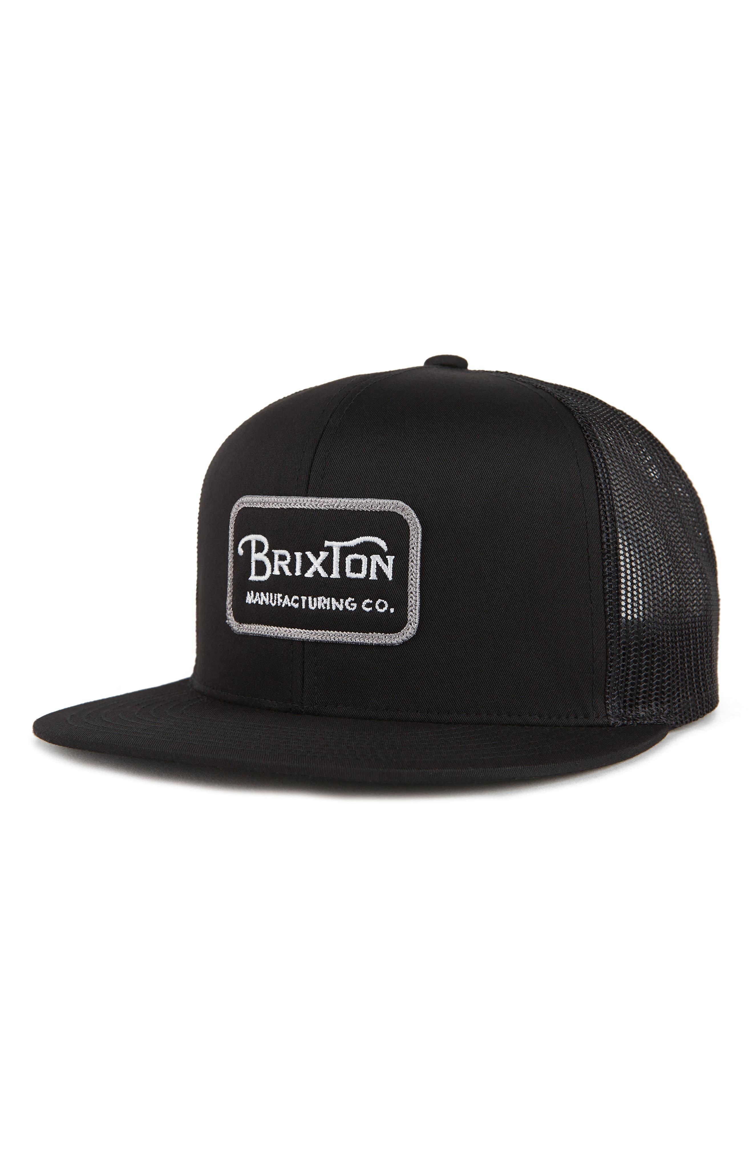 'Grade' Trucker Cap,                         Main,                         color, BLACK/ GREY