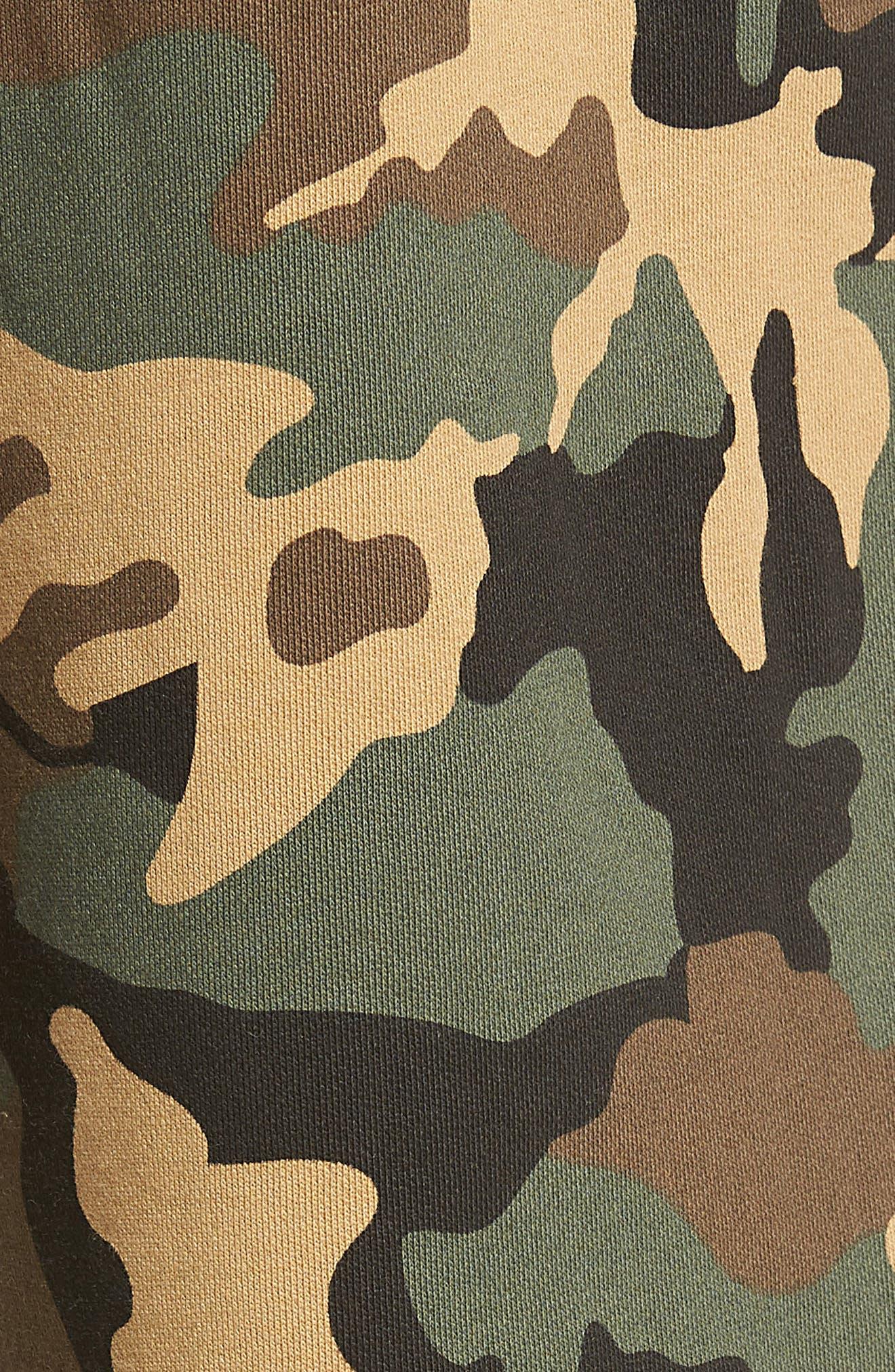True Religion Big T Slim Camo Sweatpants,                             Alternate thumbnail 5, color,                             DERRINGER CAMO