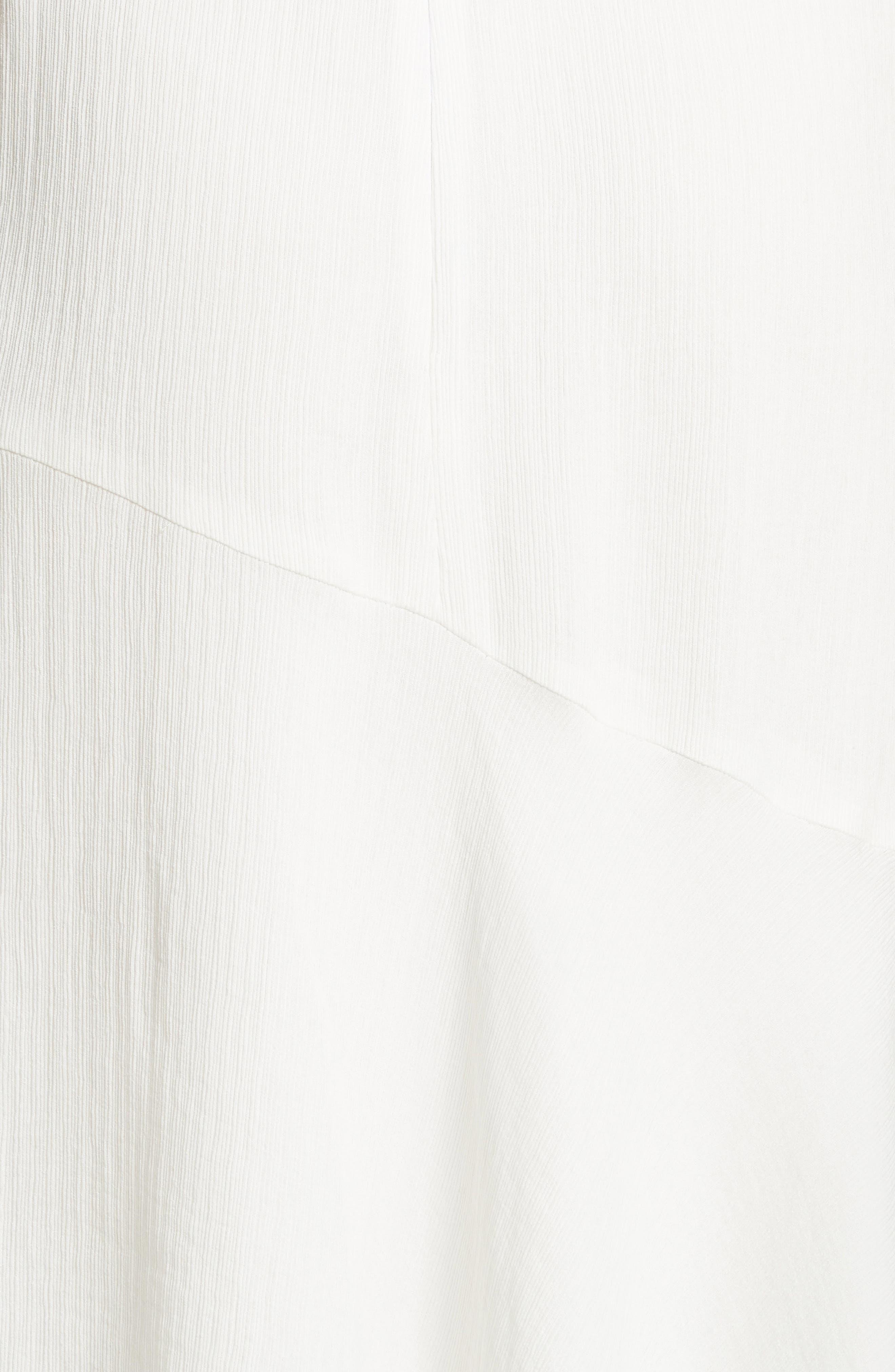 Prose & Poetry Shirley Ruffle Sleeve Midi Dress,                             Alternate thumbnail 5, color,                             101