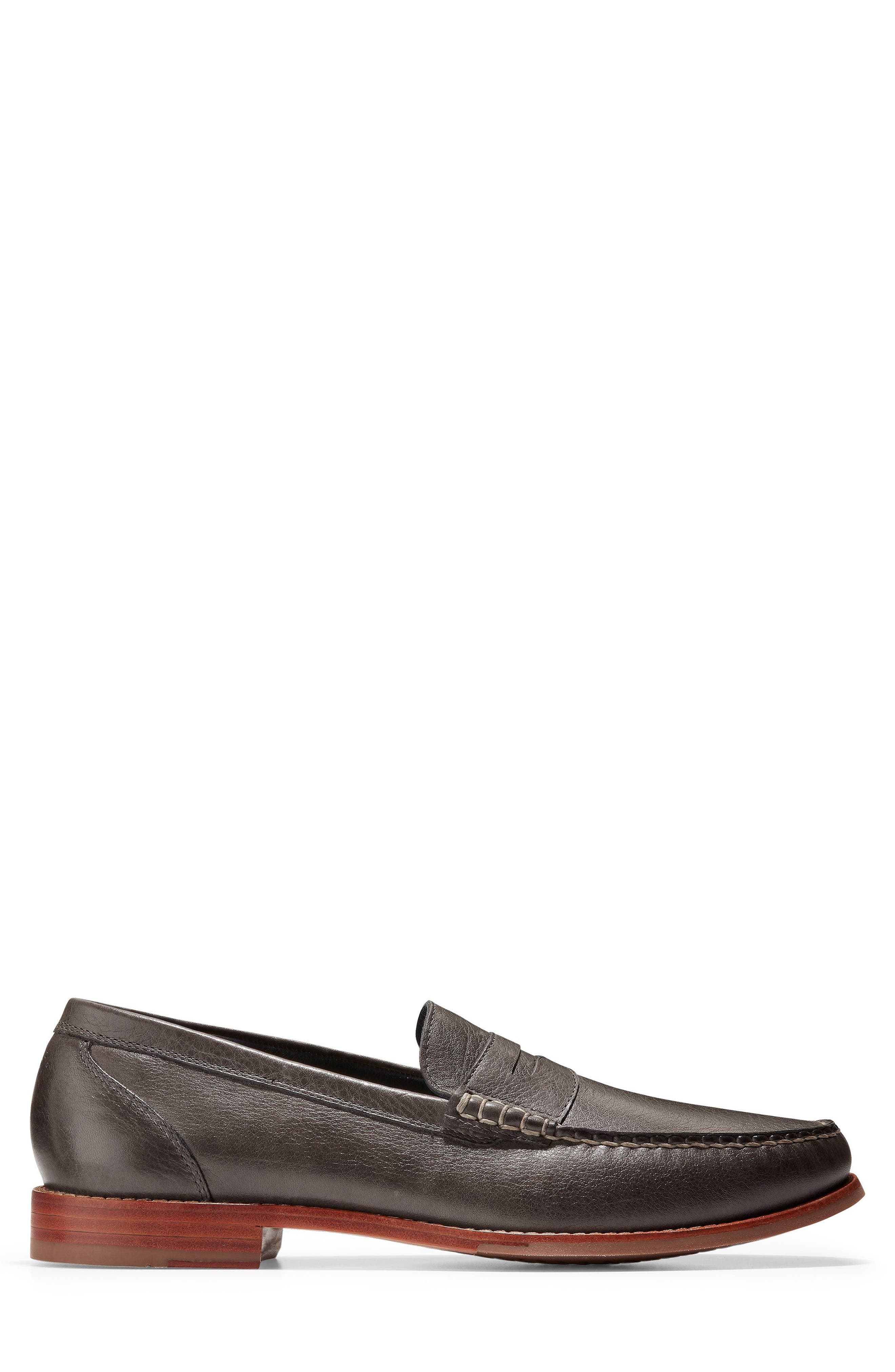 'Pinch Grand' Penny Loafer,                             Alternate thumbnail 3, color,                             021