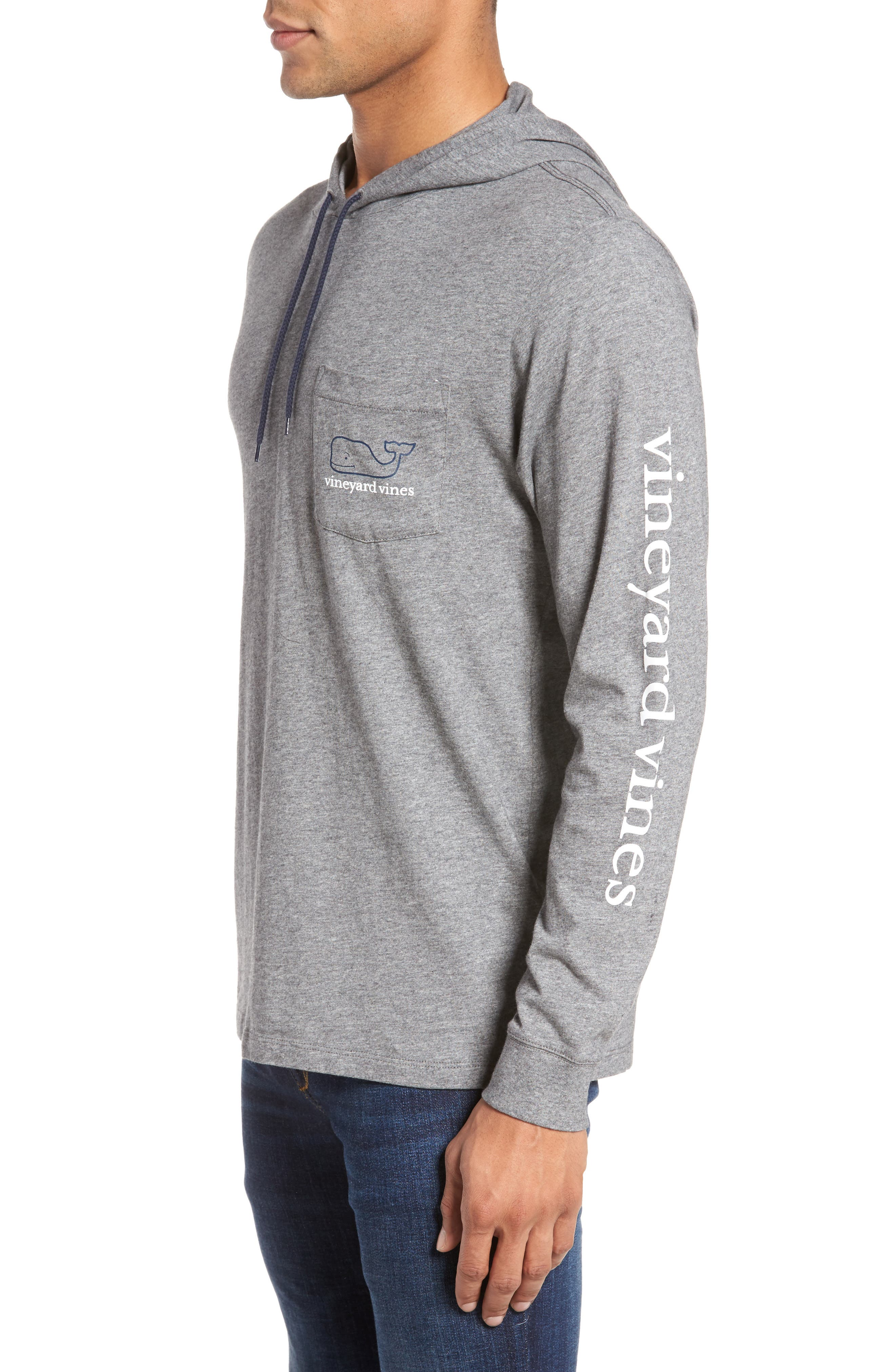 Whale Graphic Hooded T-Shirt,                             Alternate thumbnail 3, color,                             030