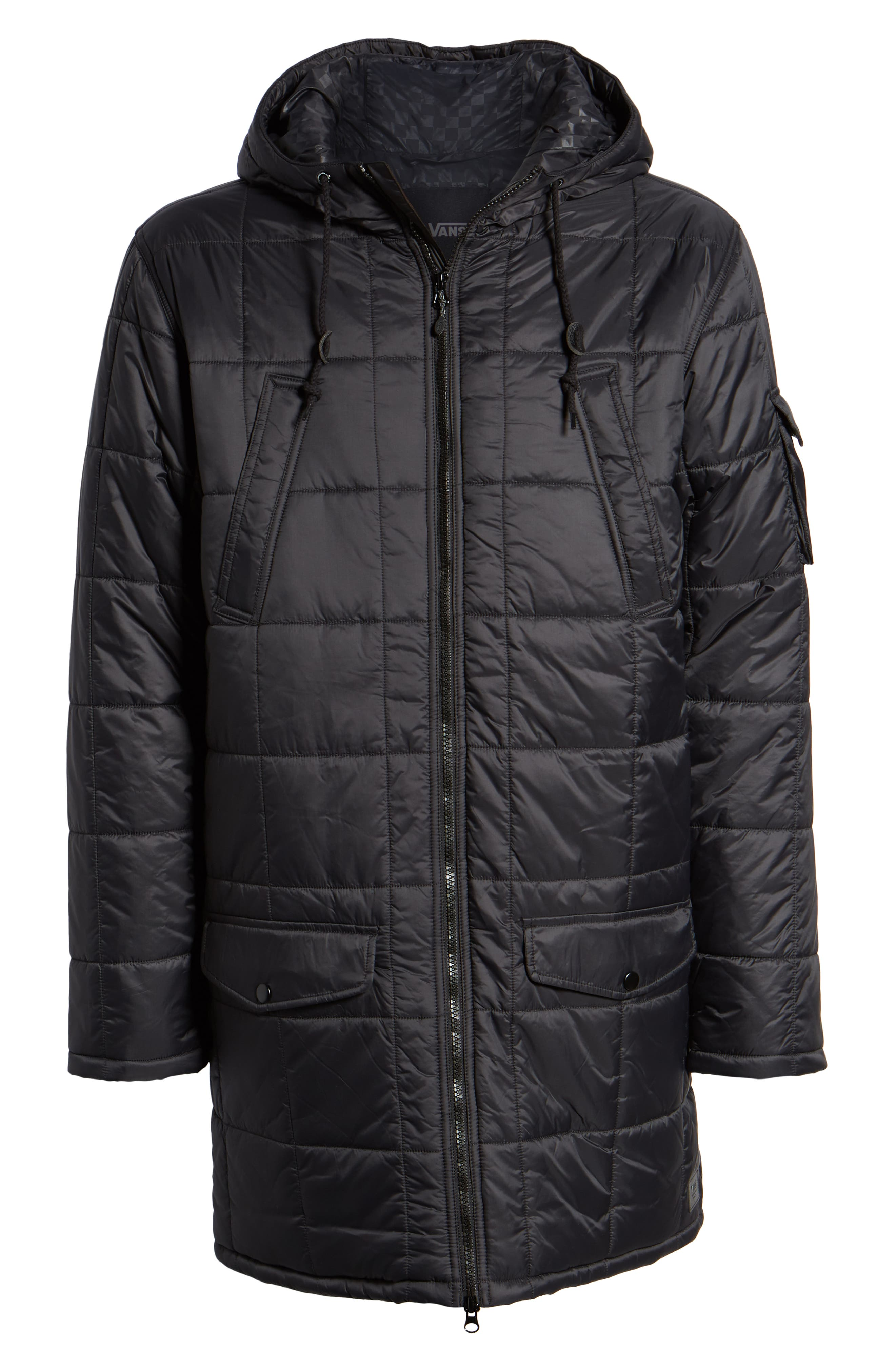 Providence MTE Quilted Jacket,                             Alternate thumbnail 6, color,                             001