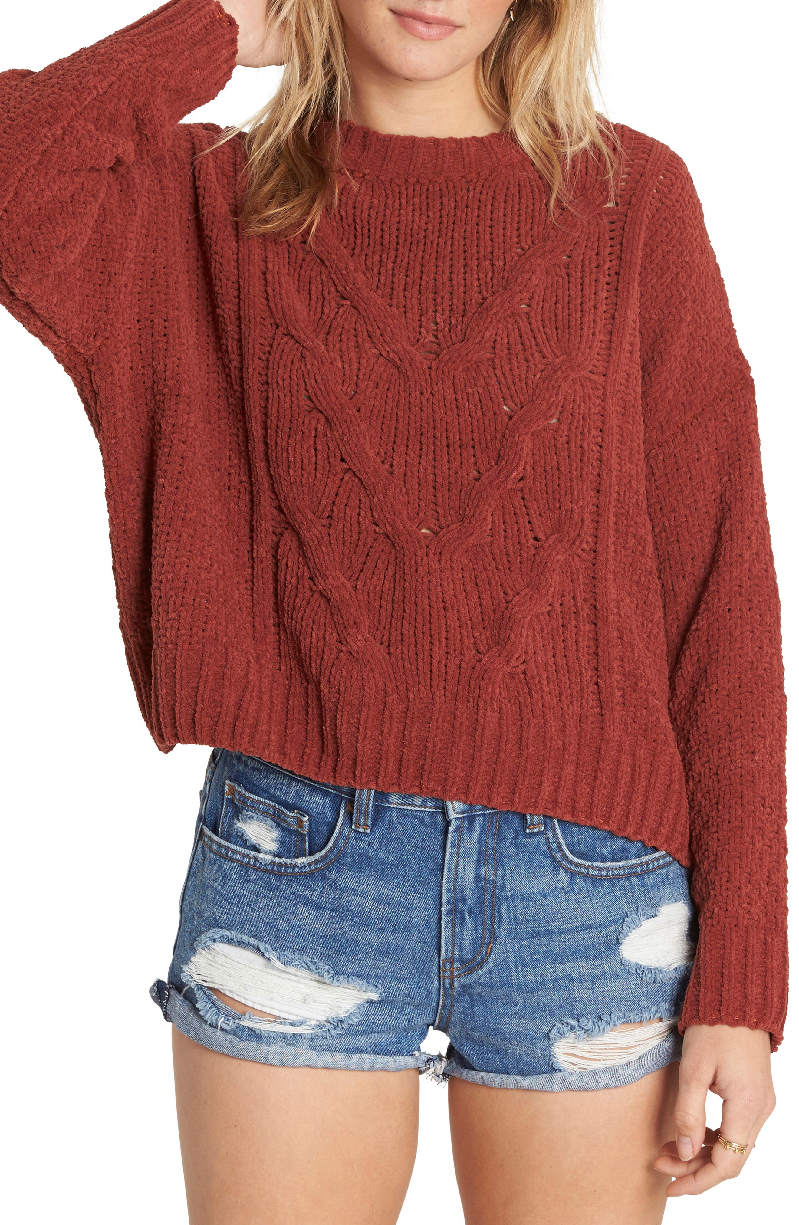 All Mine Chenille Sweater,                             Main thumbnail 2, color,