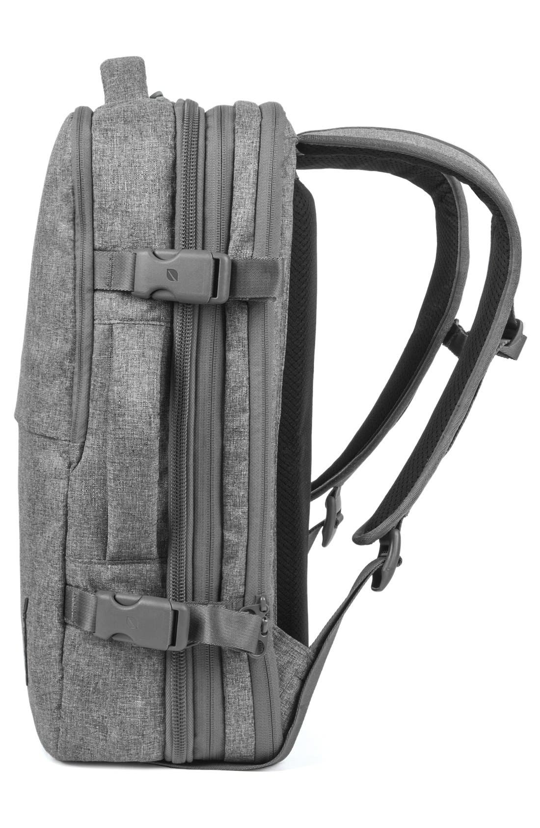 EO Travel Backpack,                             Alternate thumbnail 5, color,                             HEATHER GREY