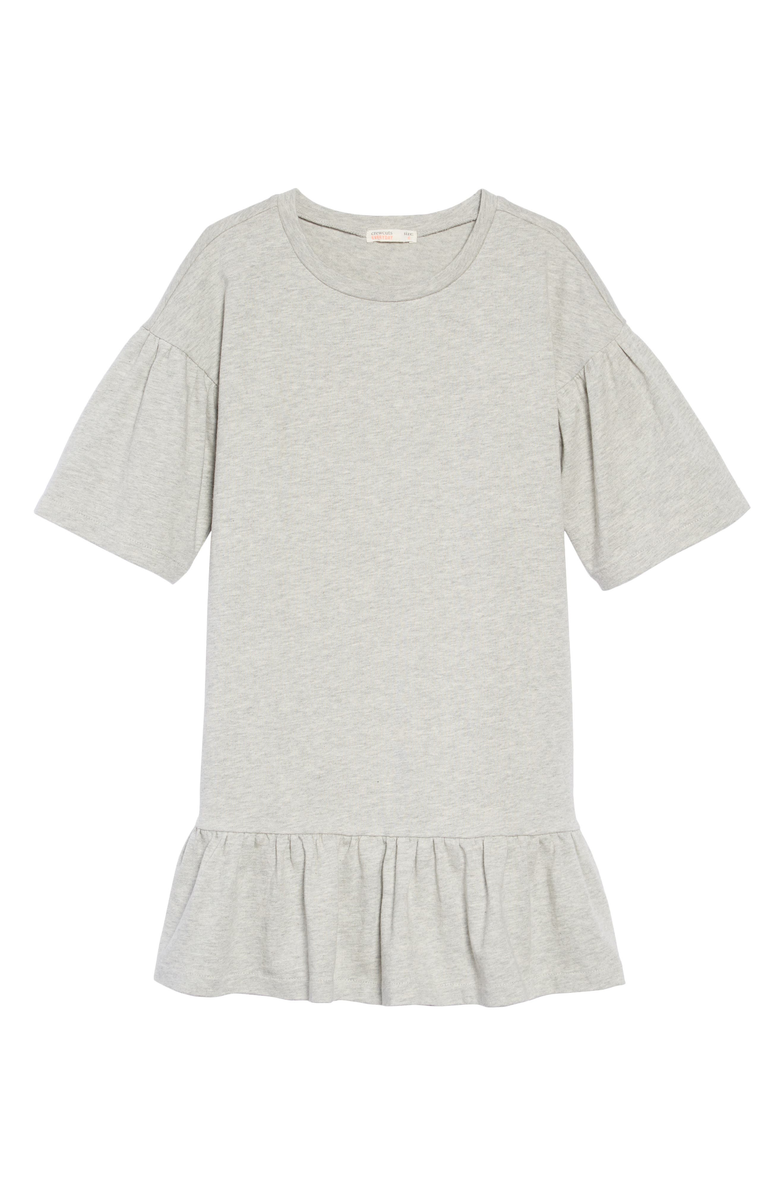 Drop Waist T-Shirt Dress,                         Main,                         color, HEATHER DUSK