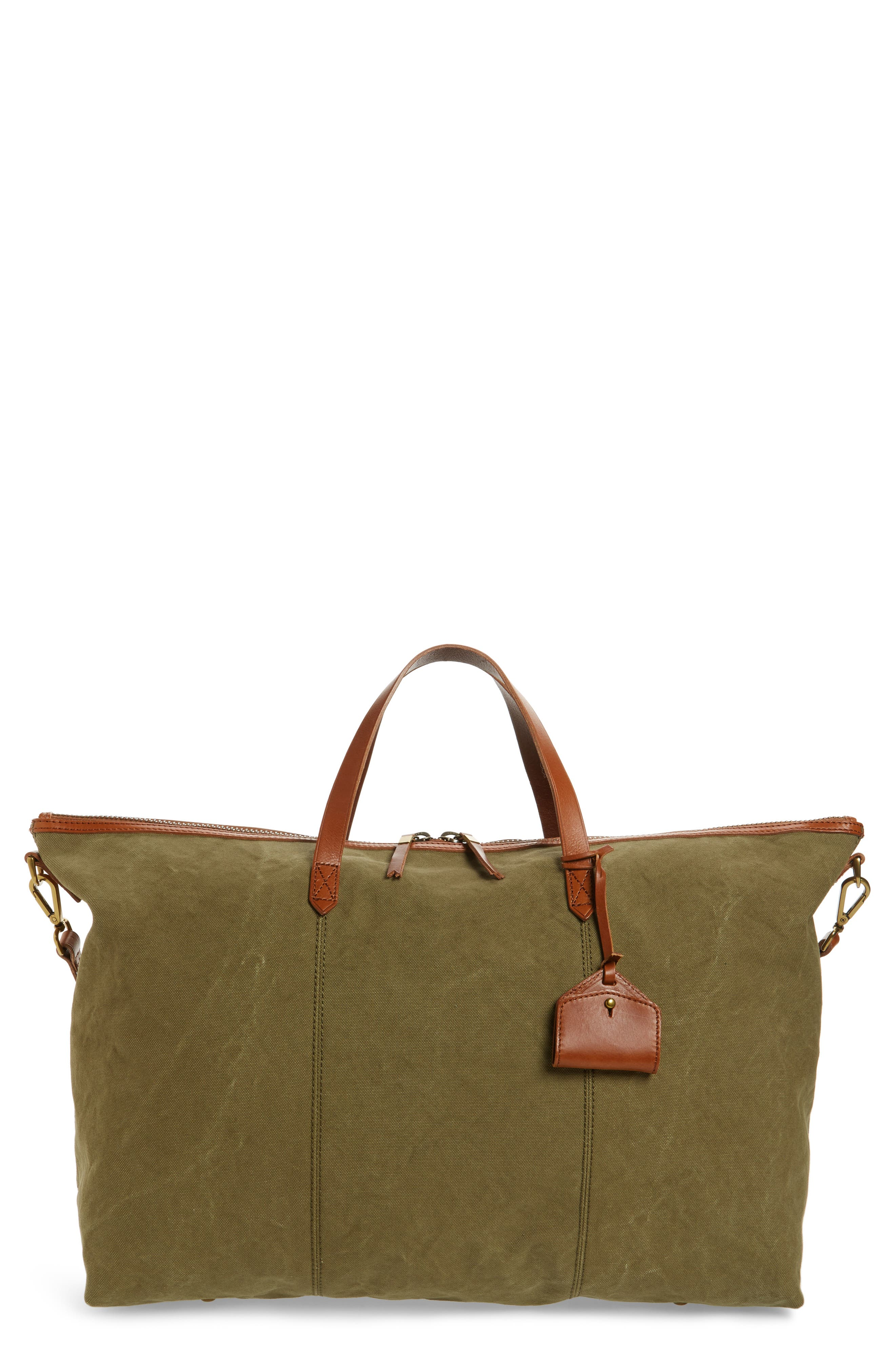 The Transport Canvas Weekend Bag,                             Main thumbnail 1, color,