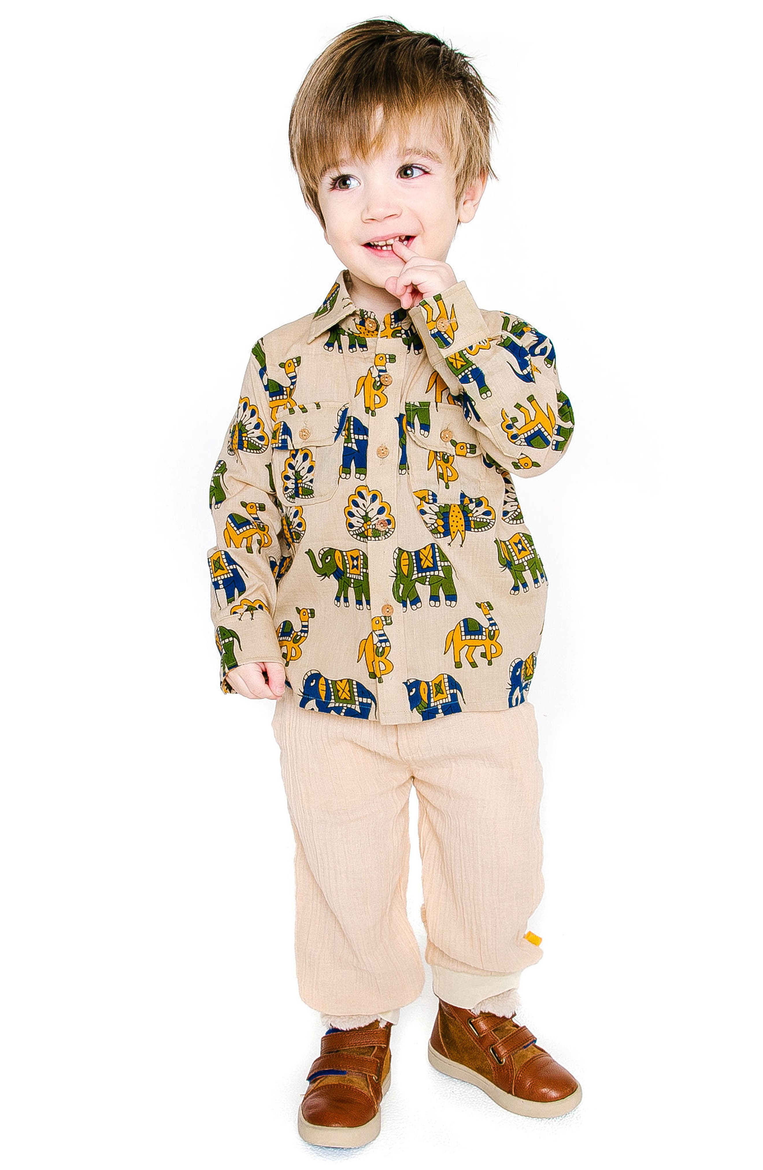 Mason Shirt,                             Alternate thumbnail 2, color,                             SAND