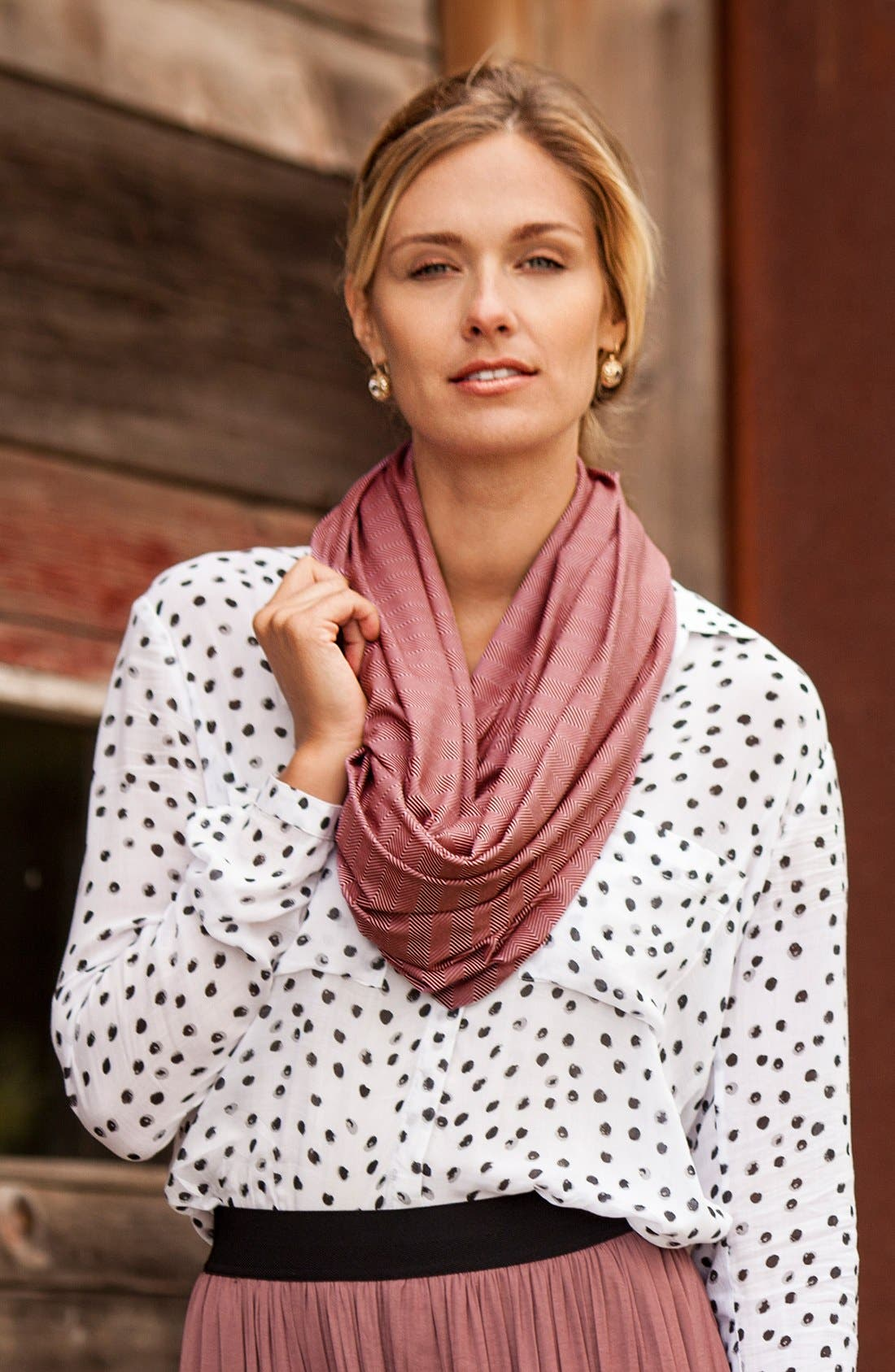 Infinity Nursing Scarf,                             Alternate thumbnail 4, color,                             601