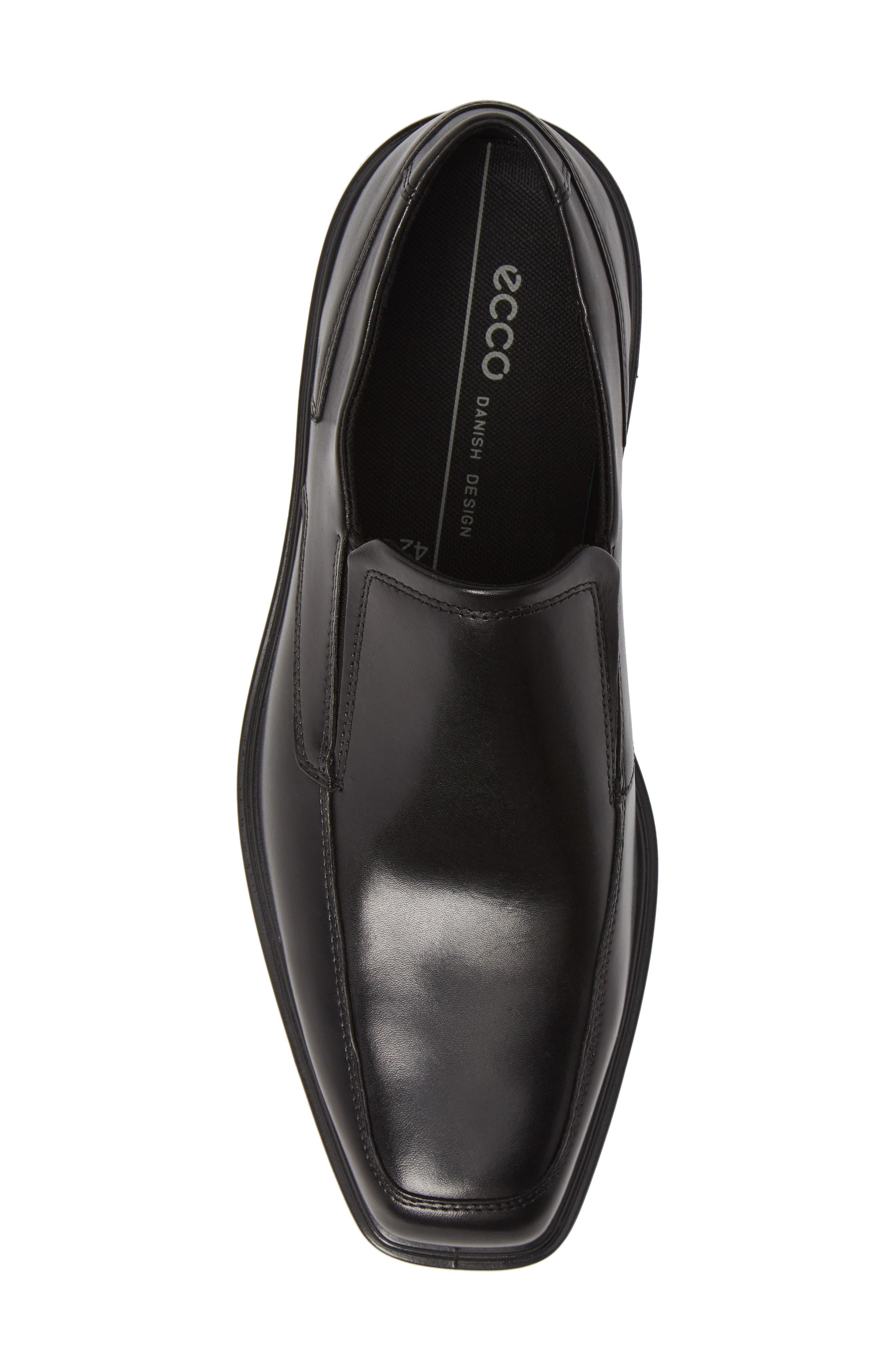 Minneapolis Venetian Loafer,                             Alternate thumbnail 5, color,                             BLACK/BLACK LEATHER