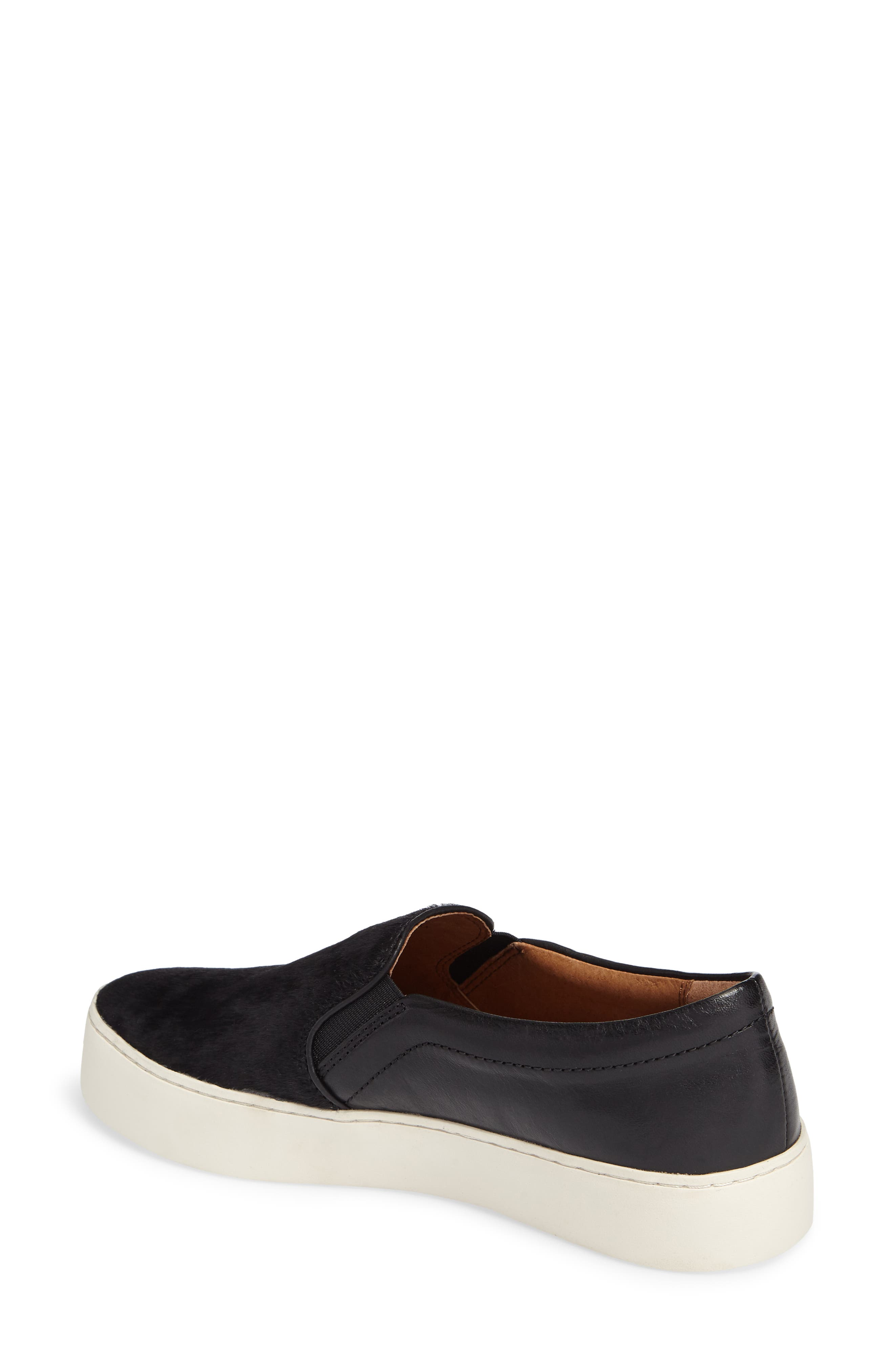 Lena Slip-On Sneaker,                             Alternate thumbnail 2, color,                             BLACK