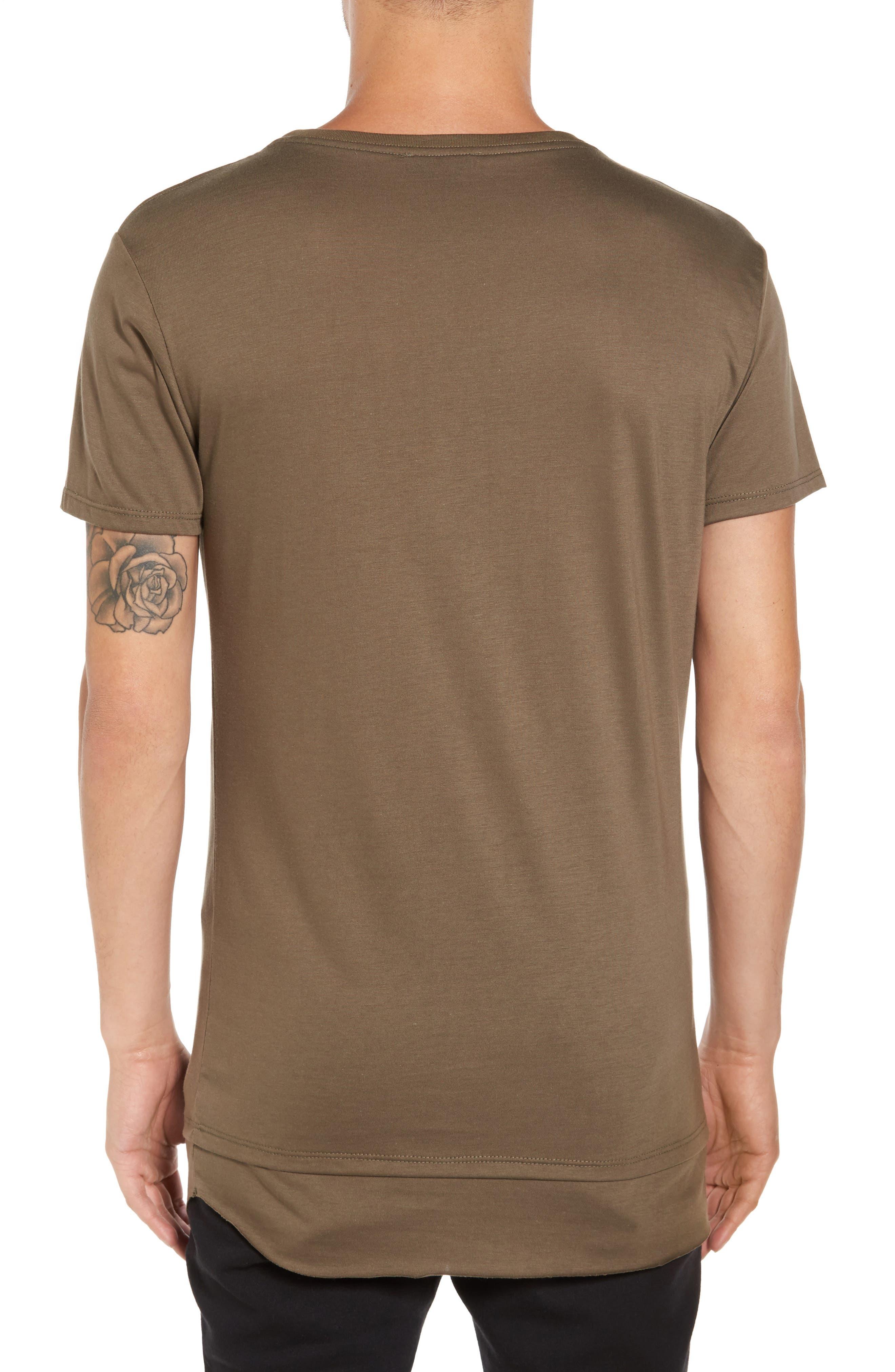 Double Layer T-Shirt,                             Alternate thumbnail 5, color,