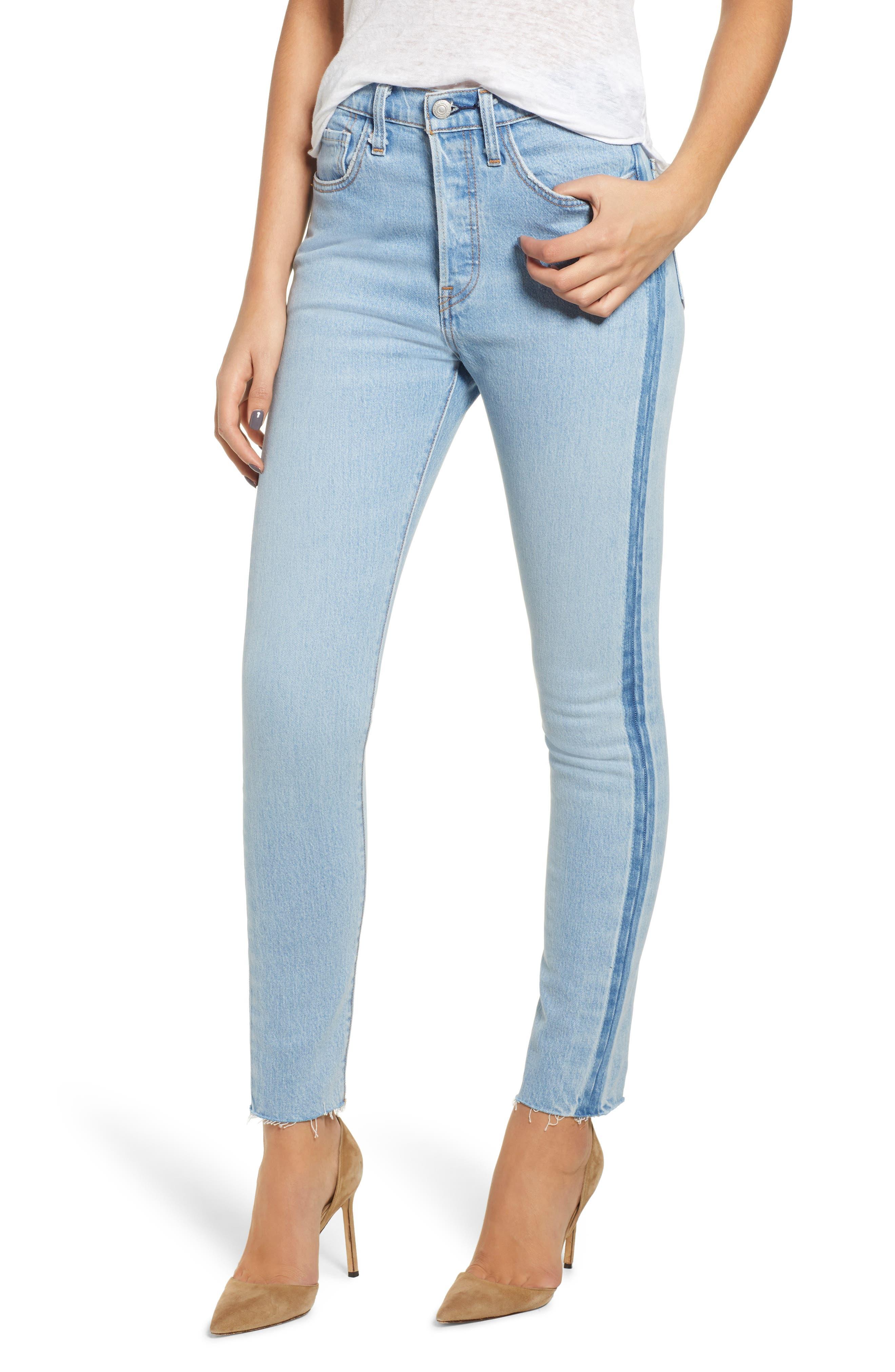 501<sup>®</sup> High Waist Skinny Jeans, Main, color, SMARTY