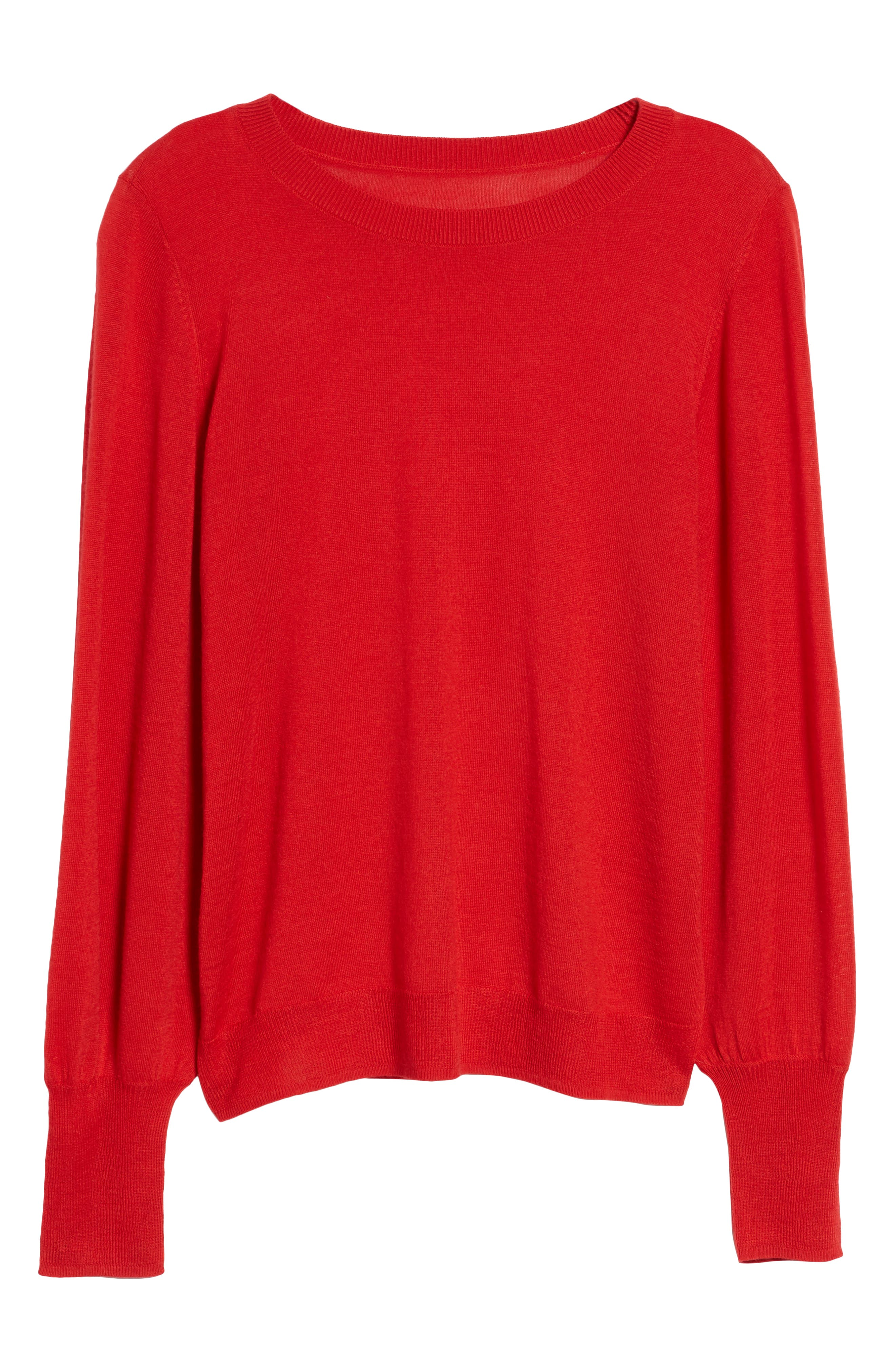 Puff Sleeve Sweater,                             Alternate thumbnail 59, color,