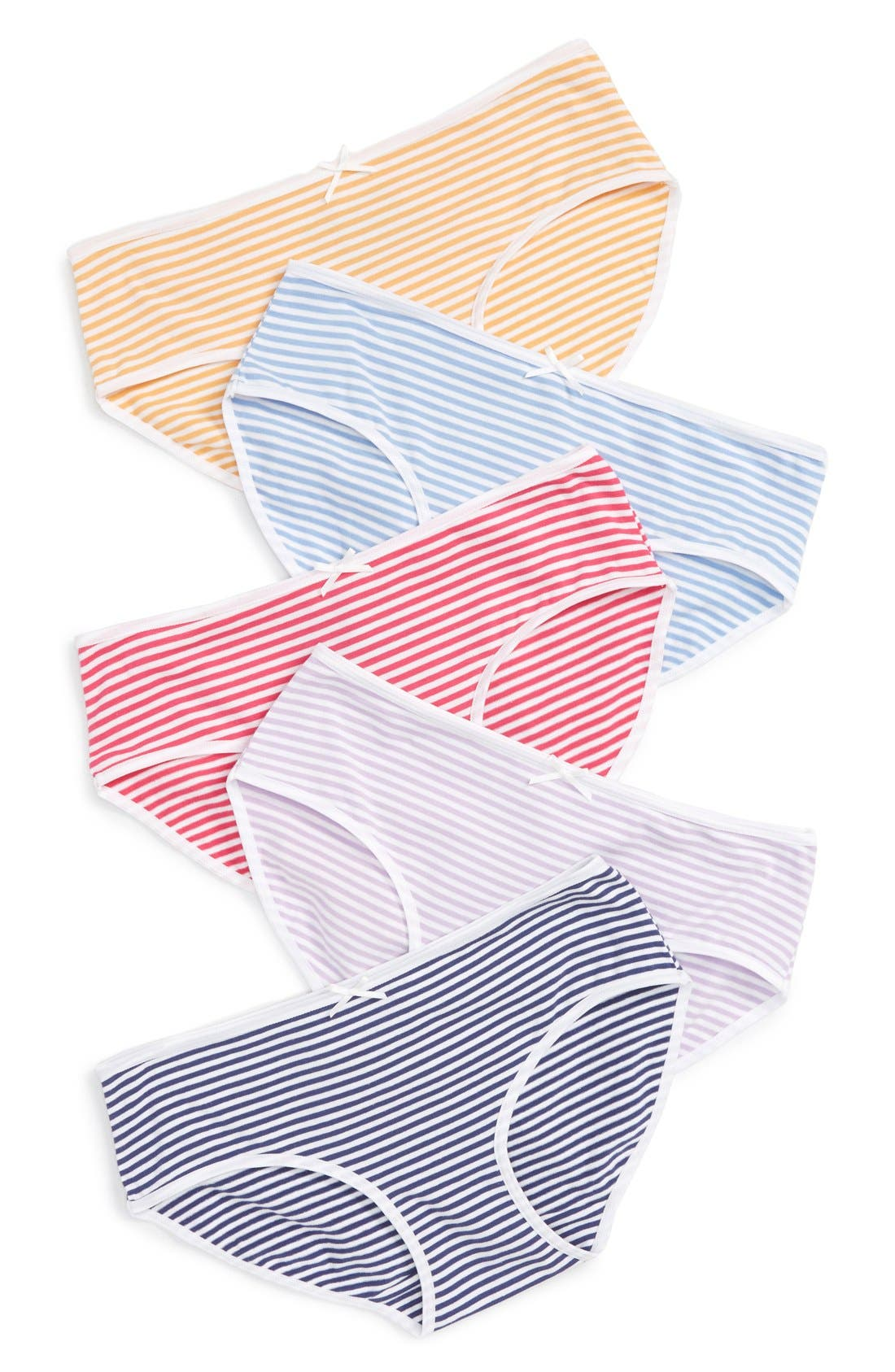 5-Pack Hipster Briefs,                             Main thumbnail 90, color,