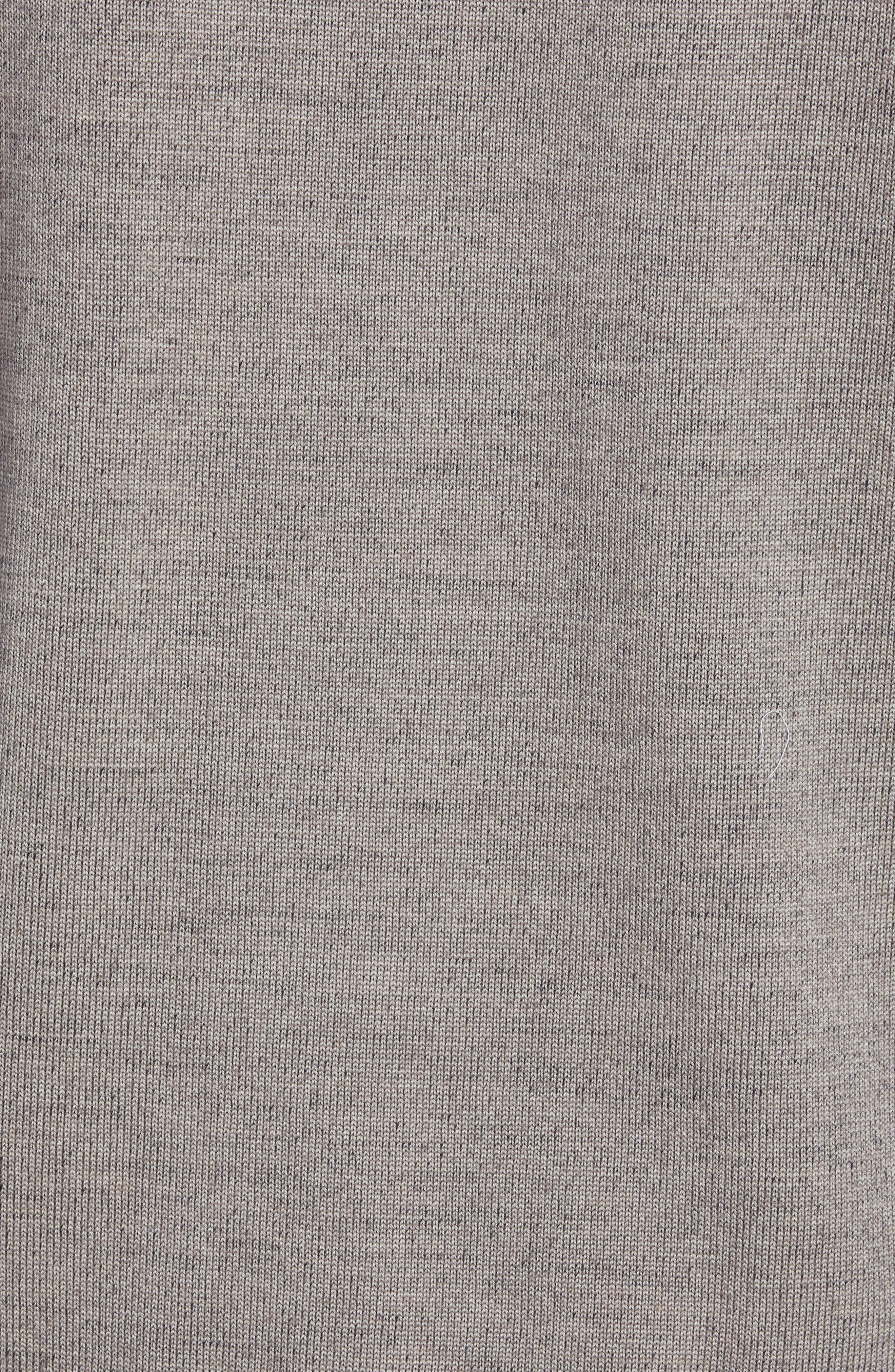 Wool Blend Sweater,                             Alternate thumbnail 5, color,                             TAUPE