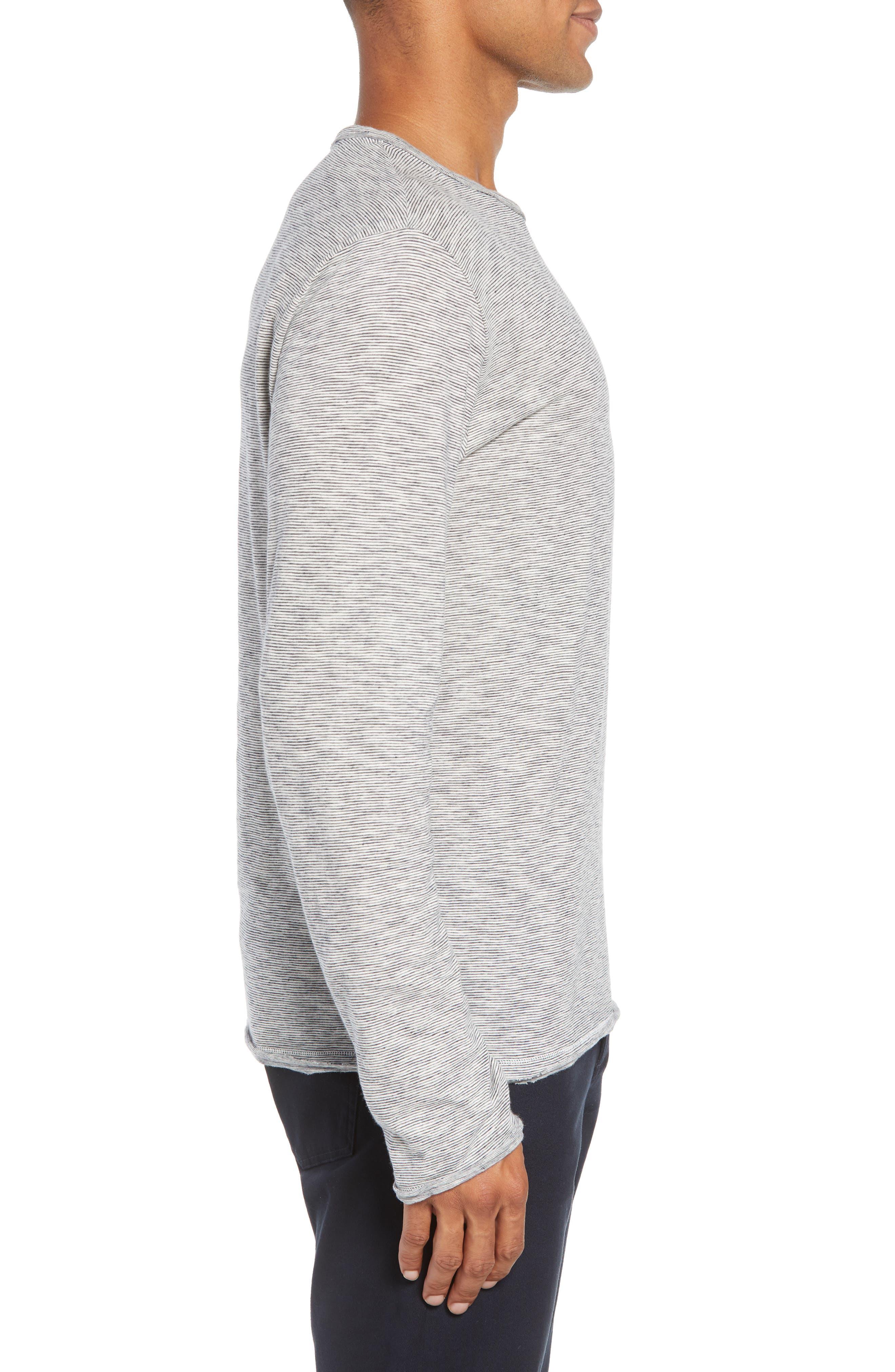 Owen T-Shirt,                             Alternate thumbnail 3, color,                             NAVY/ WHITE