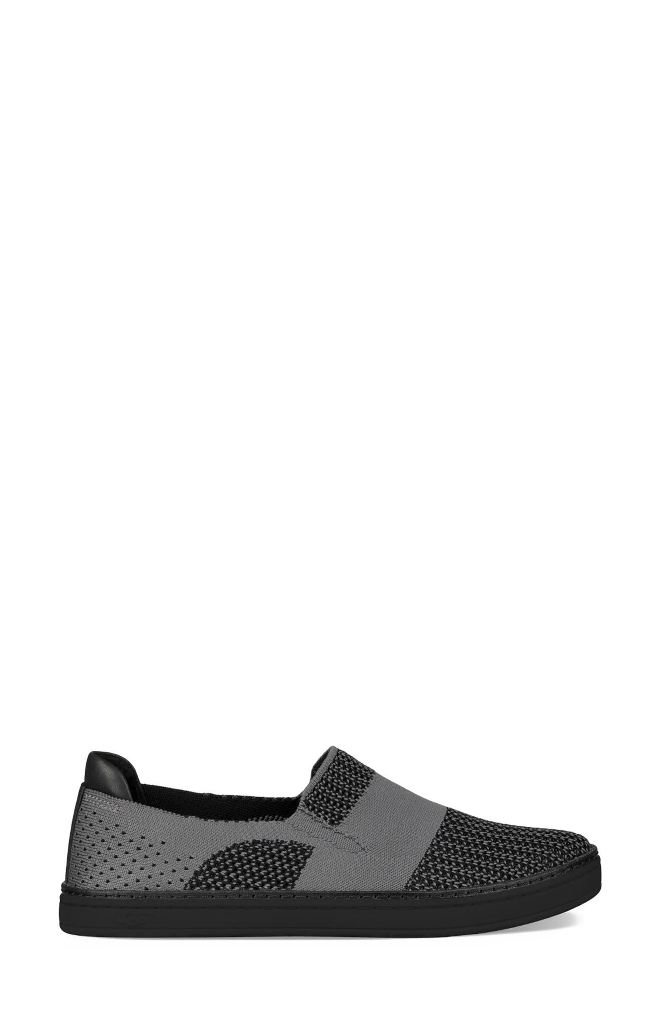Sammy Sneaker,                             Alternate thumbnail 3, color,                             BLACK/ BLACK FABRIC