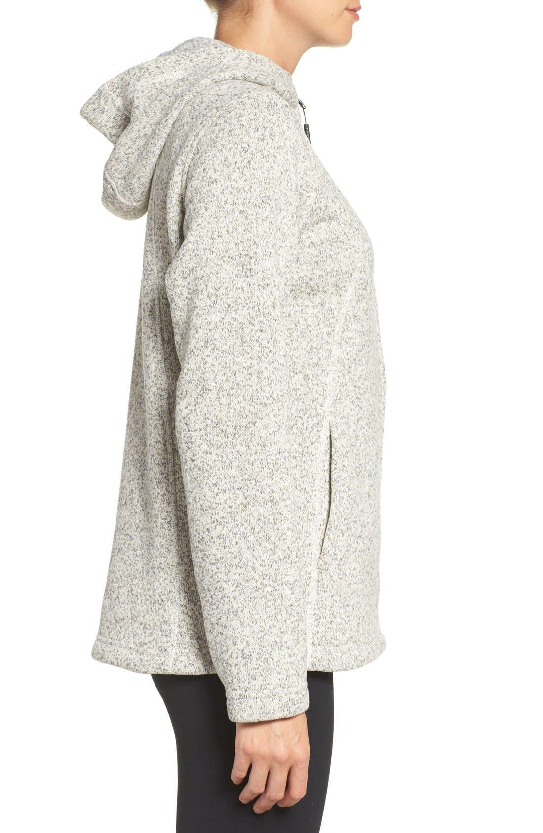 'Crescent' Fleece Jacket,                             Alternate thumbnail 21, color,