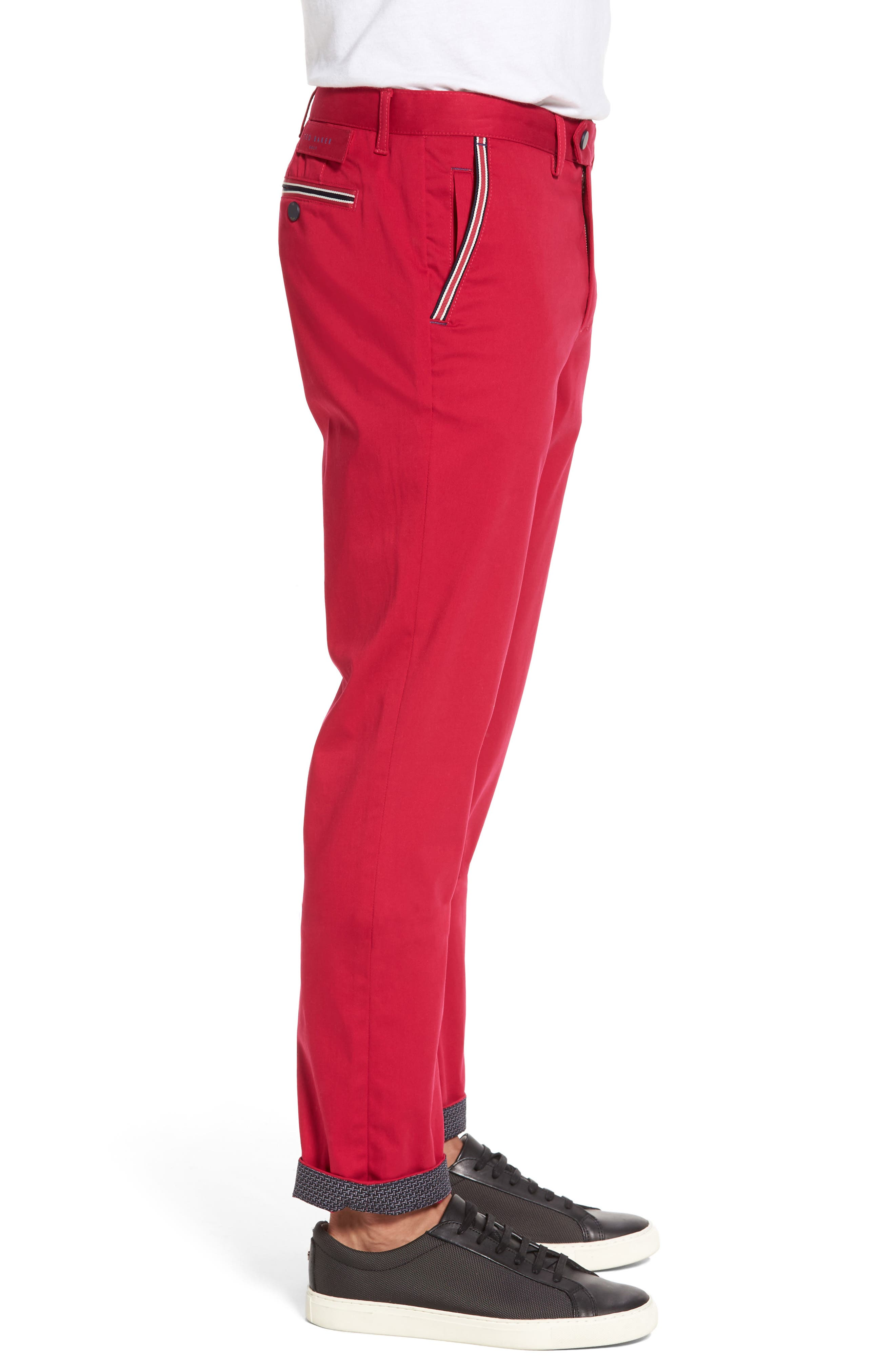 Water Resistant Golf Chinos,                             Alternate thumbnail 4, color,                             660
