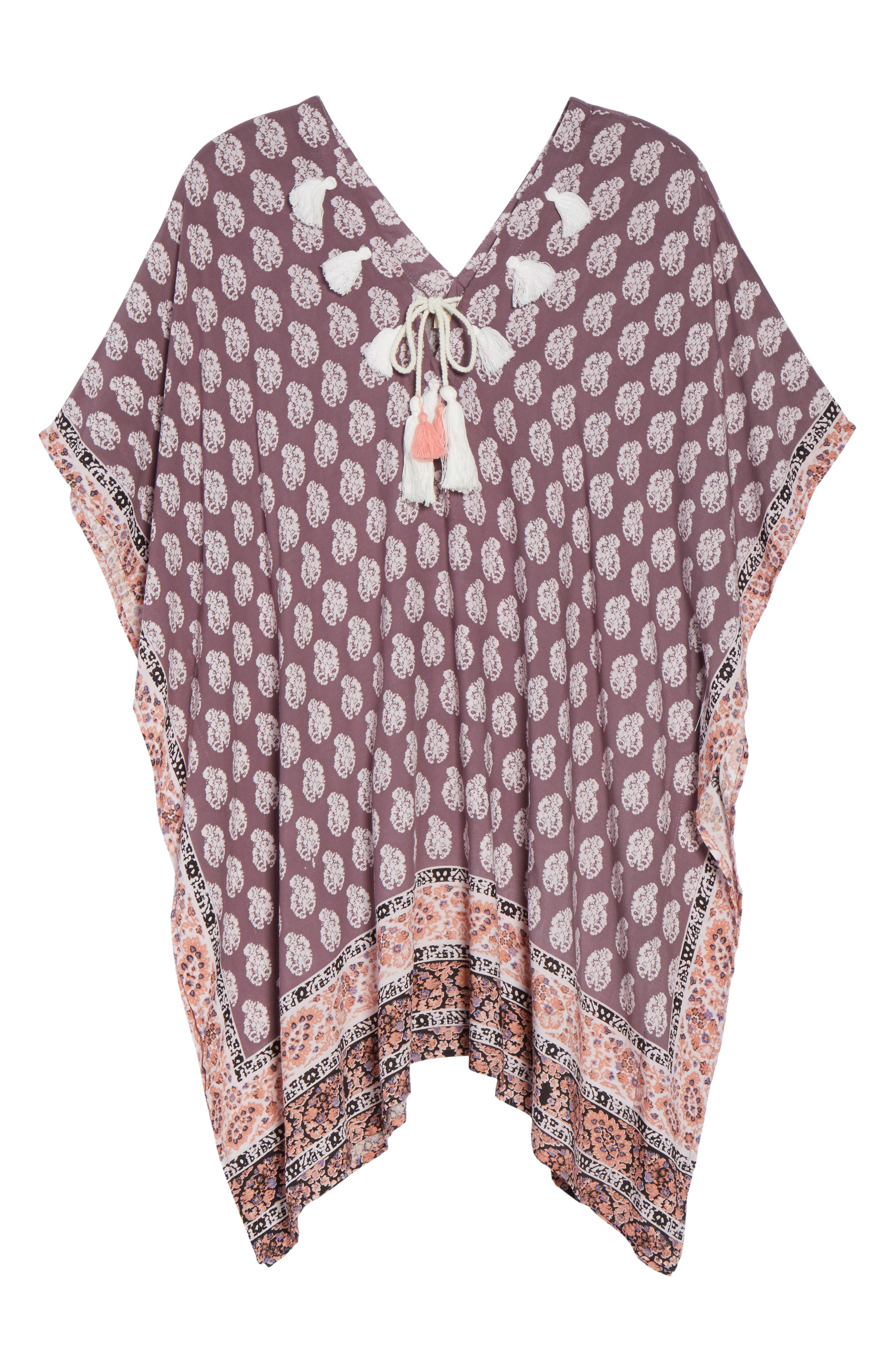 Plum Paradise Cover-Up Tunic,                             Alternate thumbnail 6, color,                             510