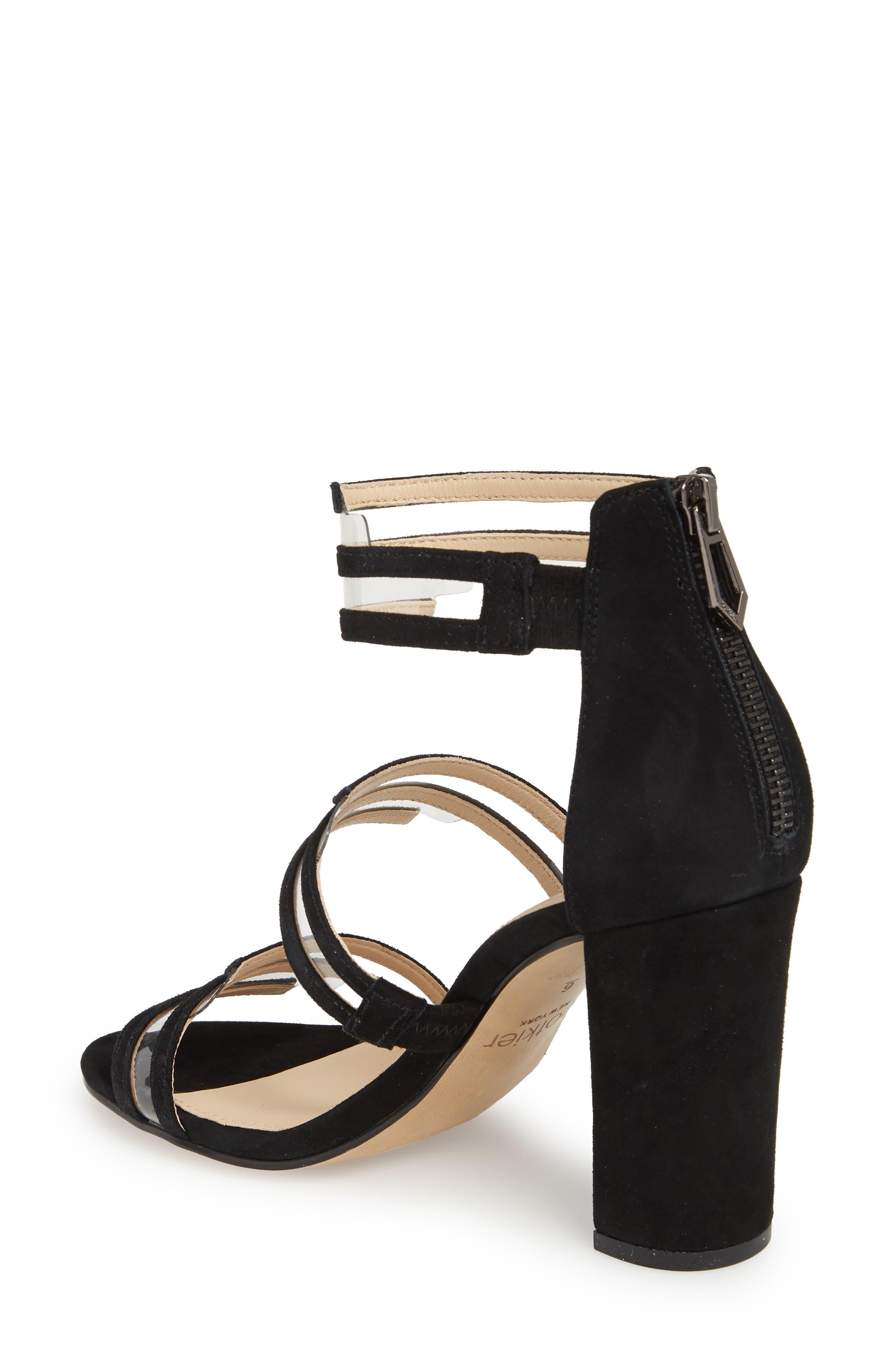 Grecia Sandal,                             Alternate thumbnail 2, color,                             BLACK SUEDE