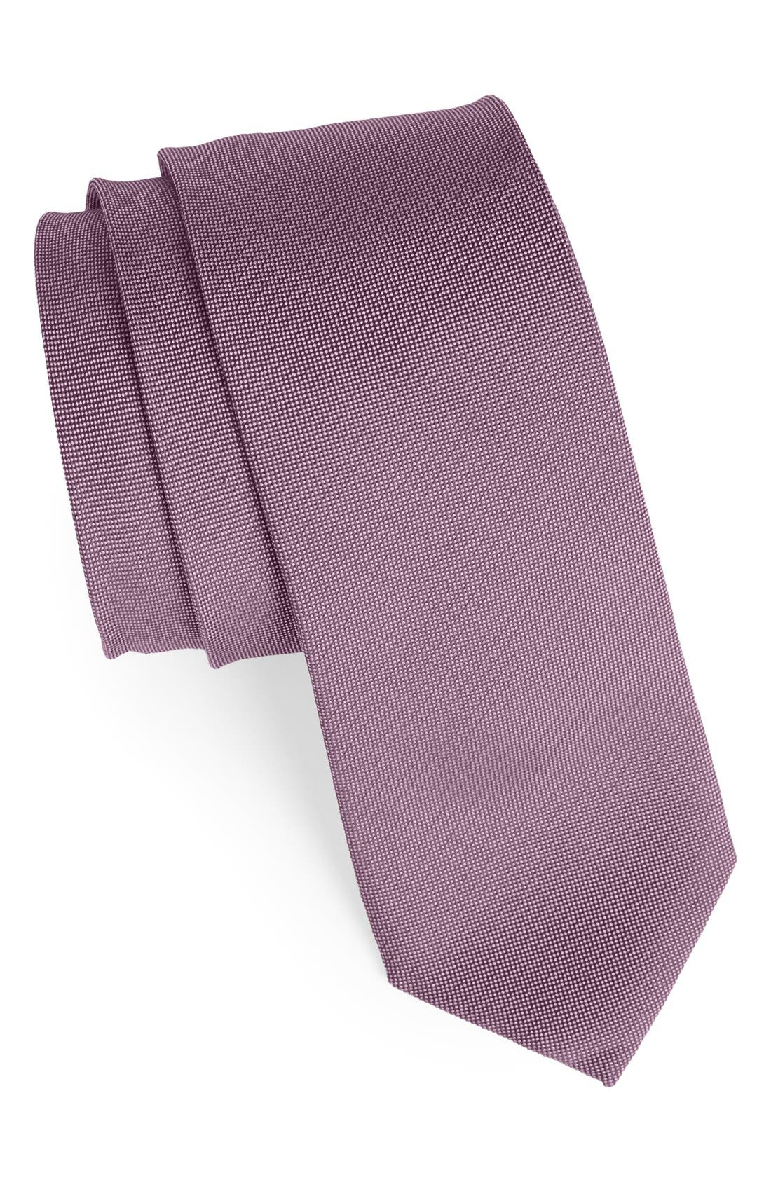 Woven Silk & Cotton Tie,                             Main thumbnail 3, color,