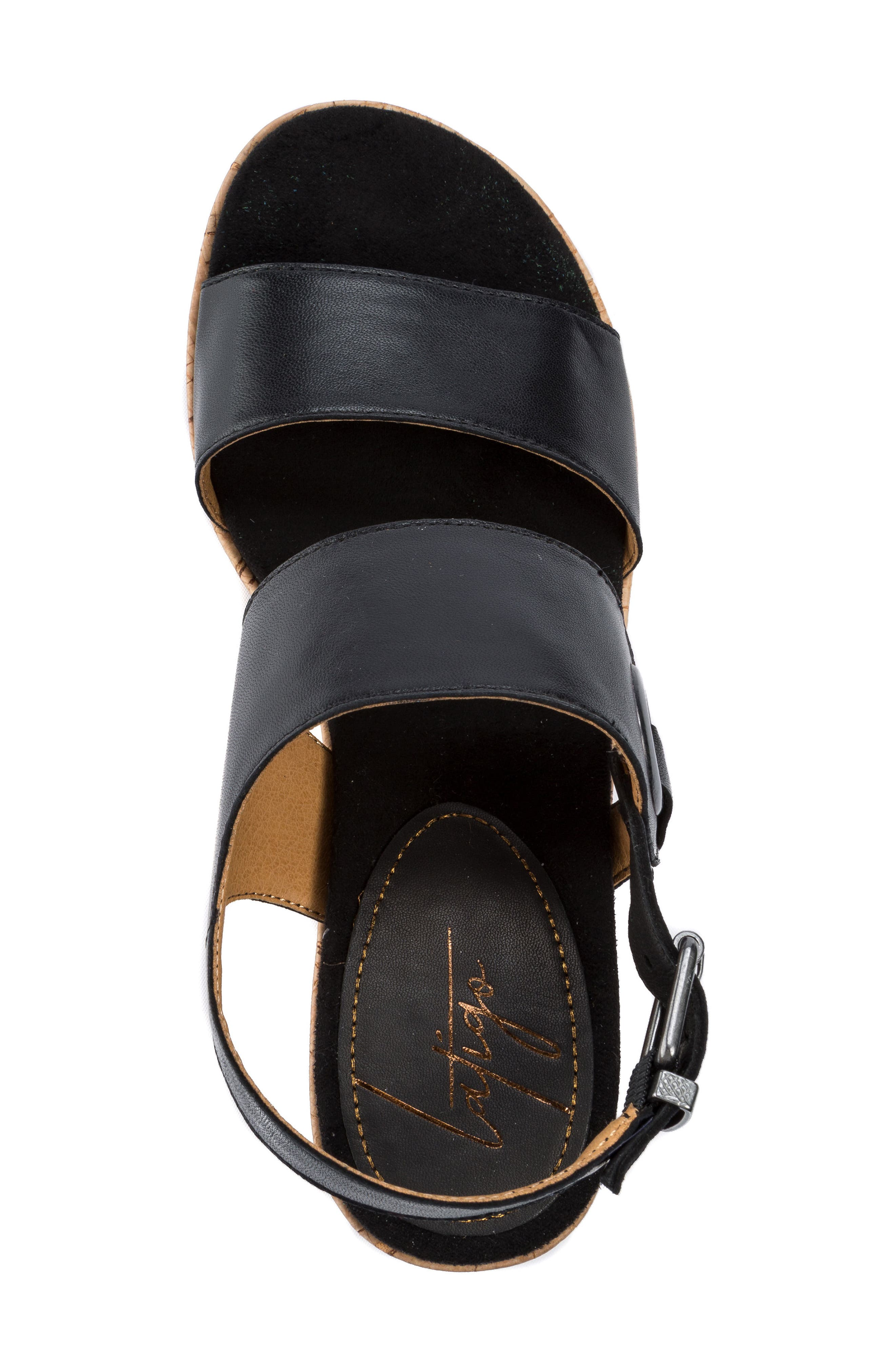 Lauren Platform Wedge Sandal,                             Alternate thumbnail 9, color,