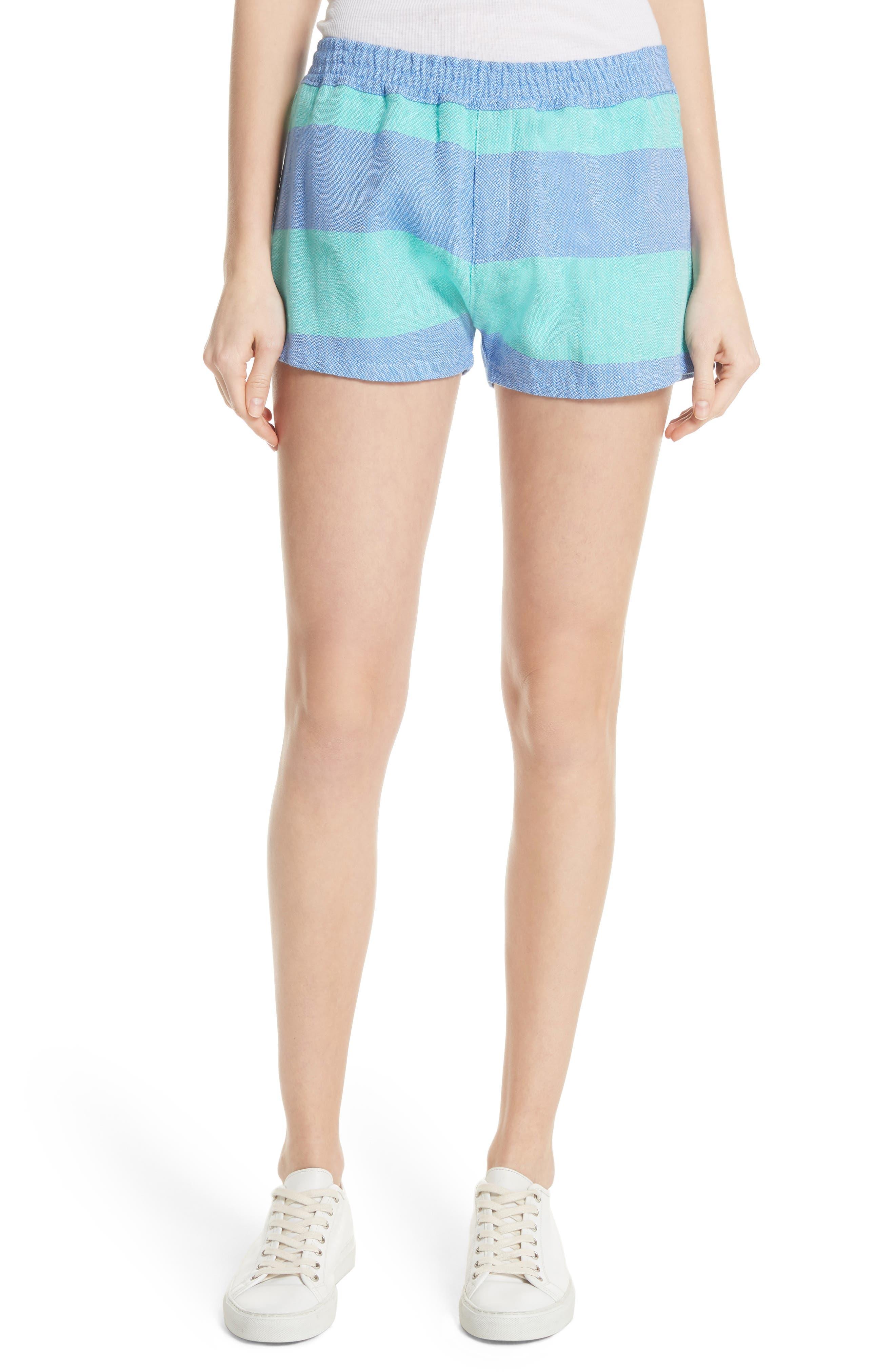 Surf Stripe Shorts,                             Main thumbnail 1, color,