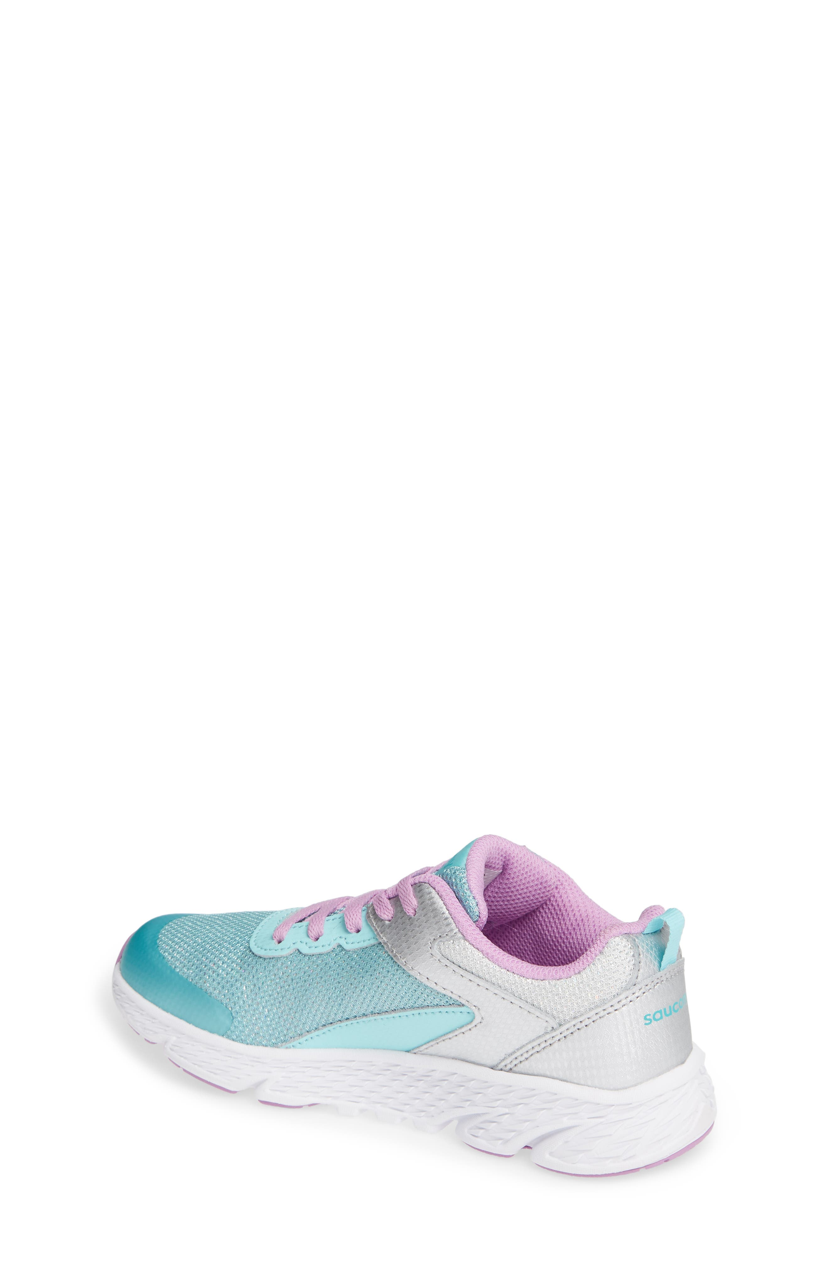 Wind Sneaker,                             Alternate thumbnail 2, color,                             TURQUOISE/ SILVER