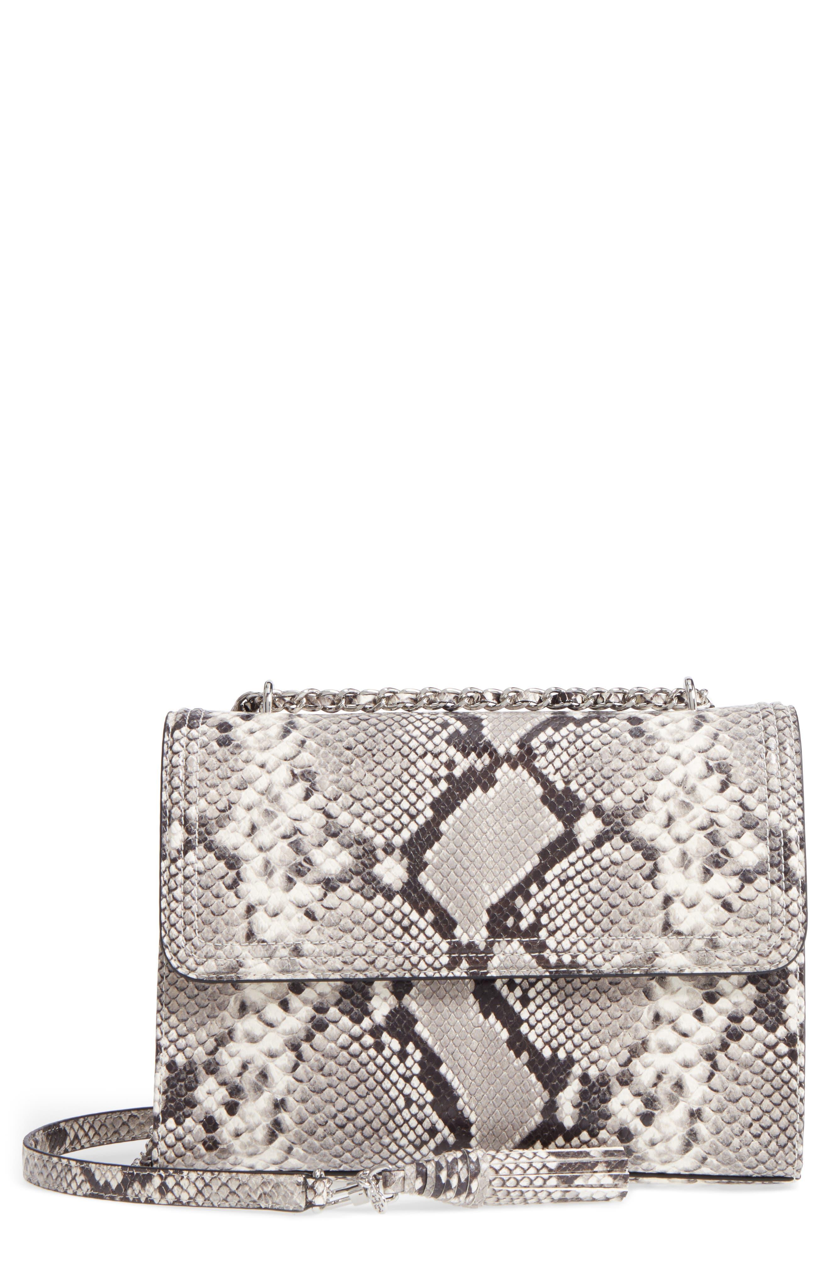 Fleming Convertible Leather Shoulder Bag,                             Main thumbnail 1, color,                             001