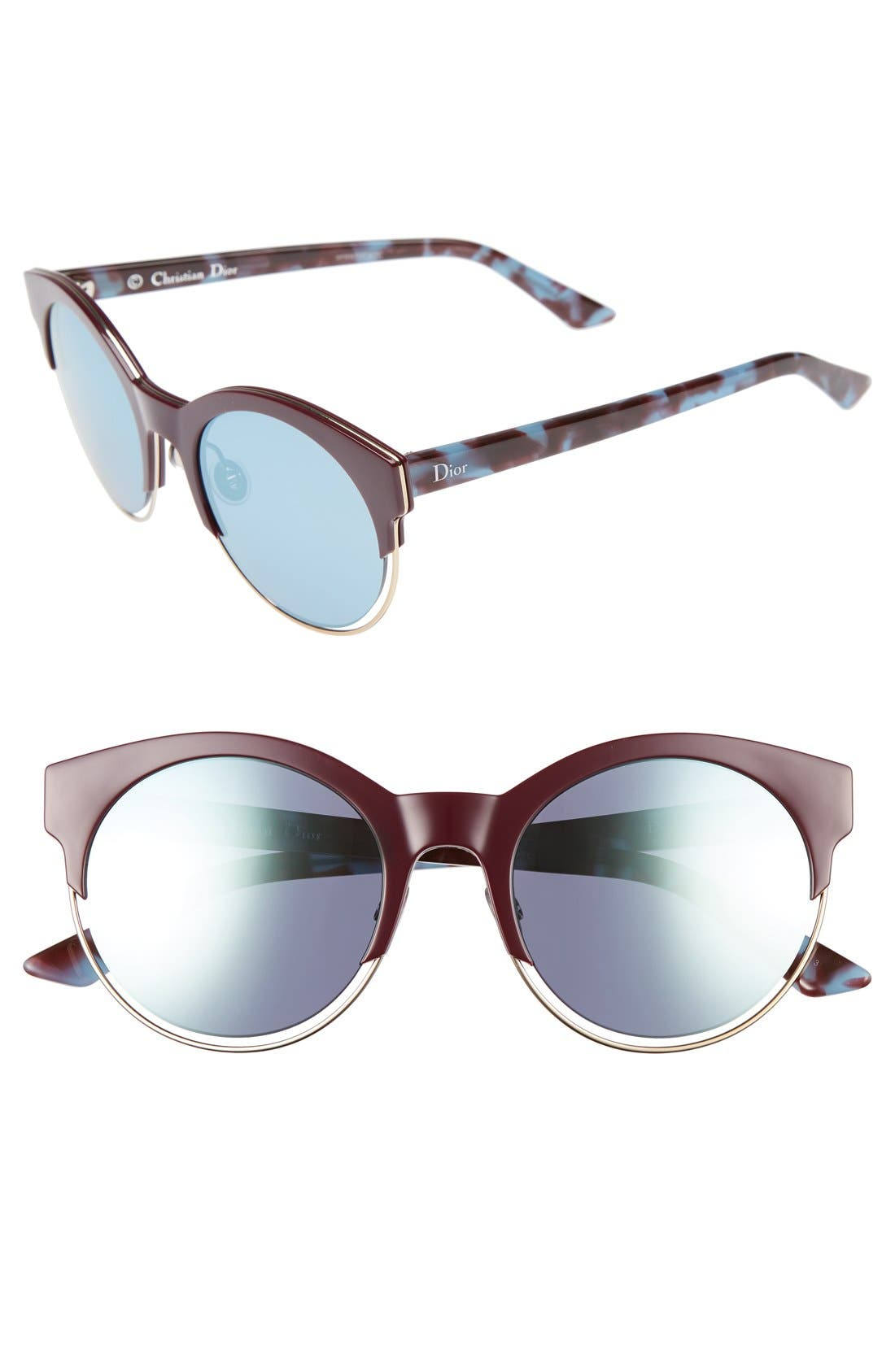 Siderall 1 53mm Round Sunglasses,                             Main thumbnail 7, color,