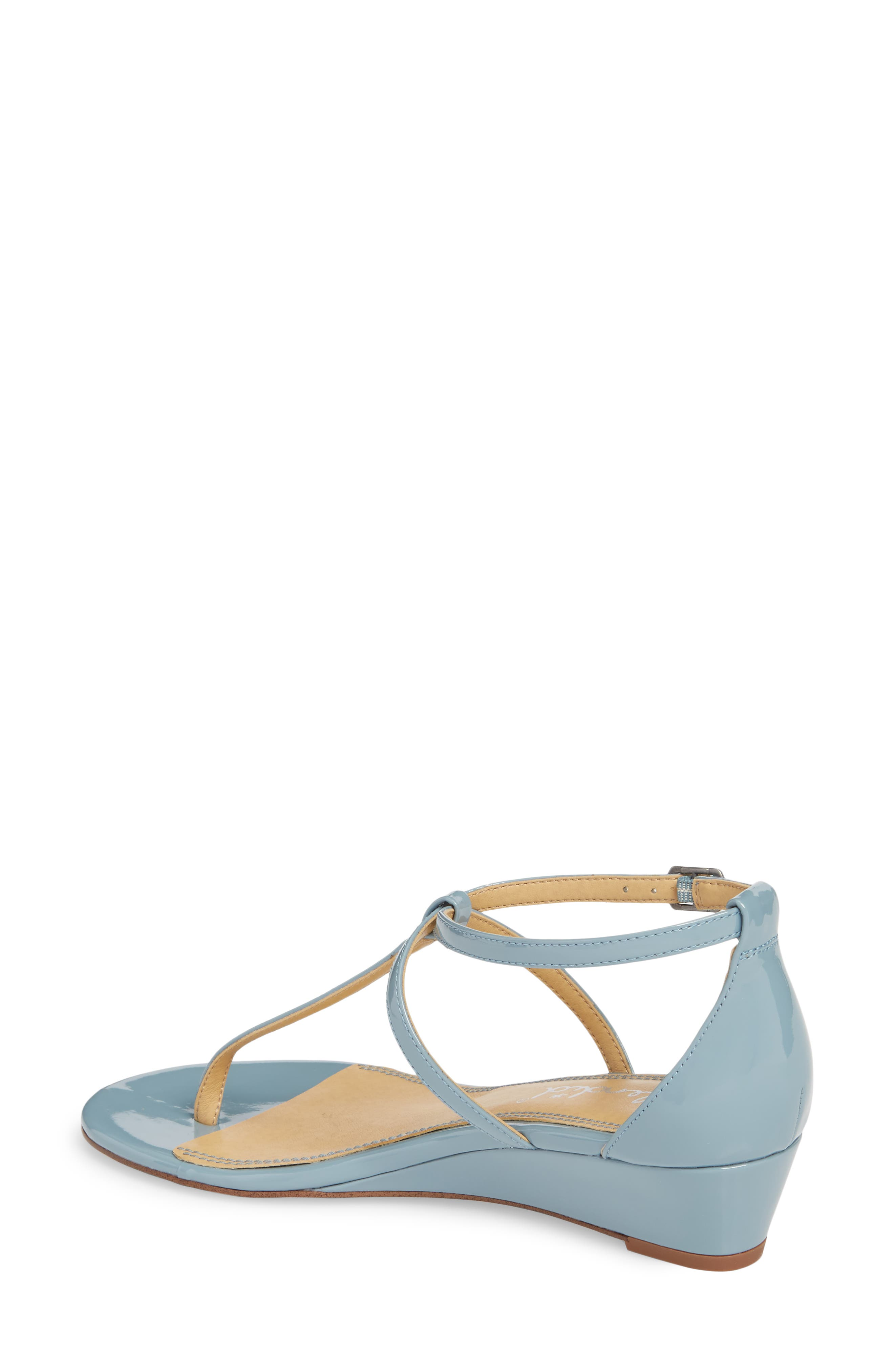 Bryce T-Strap Wedge Sandal,                             Alternate thumbnail 10, color,