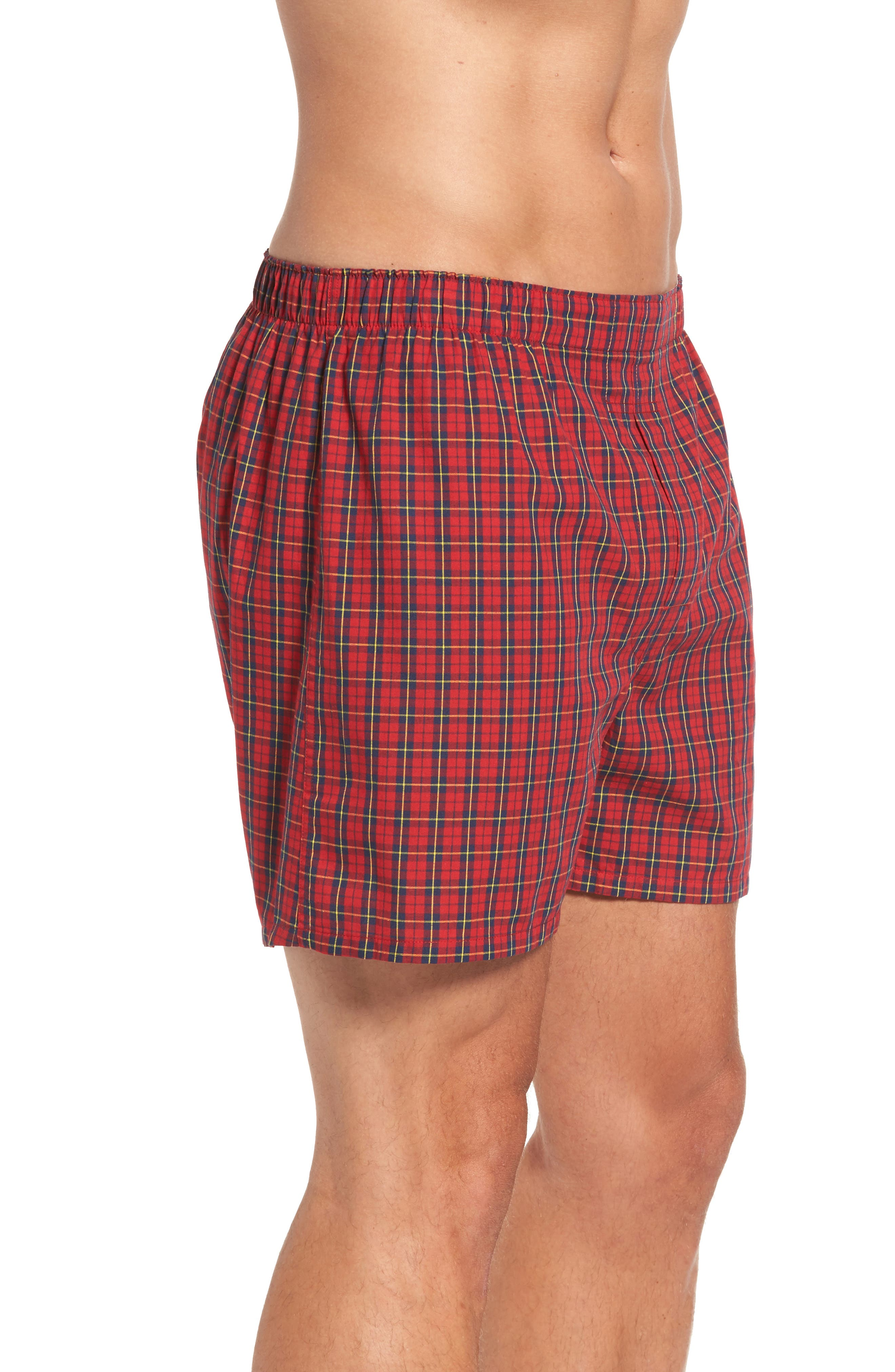 Assorted 3-Pack Woven Cotton Boxers,                             Alternate thumbnail 22, color,
