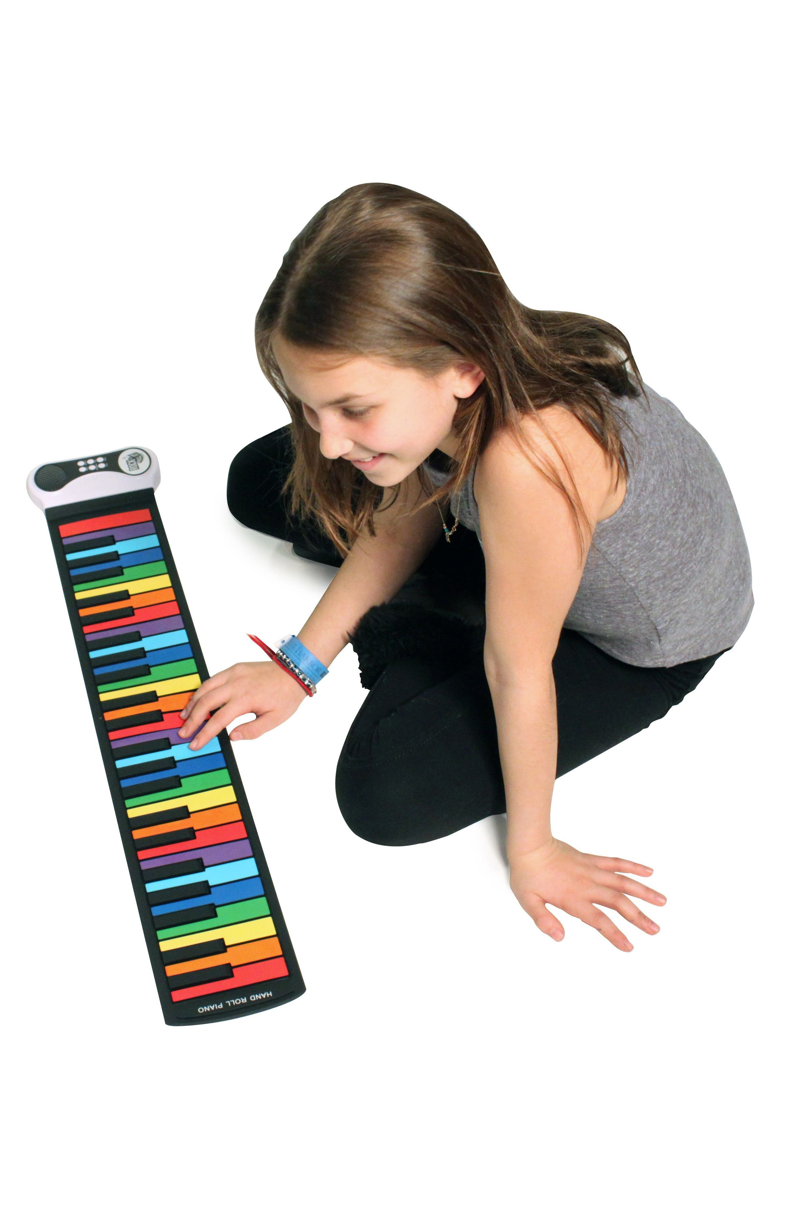Rock & Roll It Flexible Roll-Up Piano,                             Alternate thumbnail 3, color,