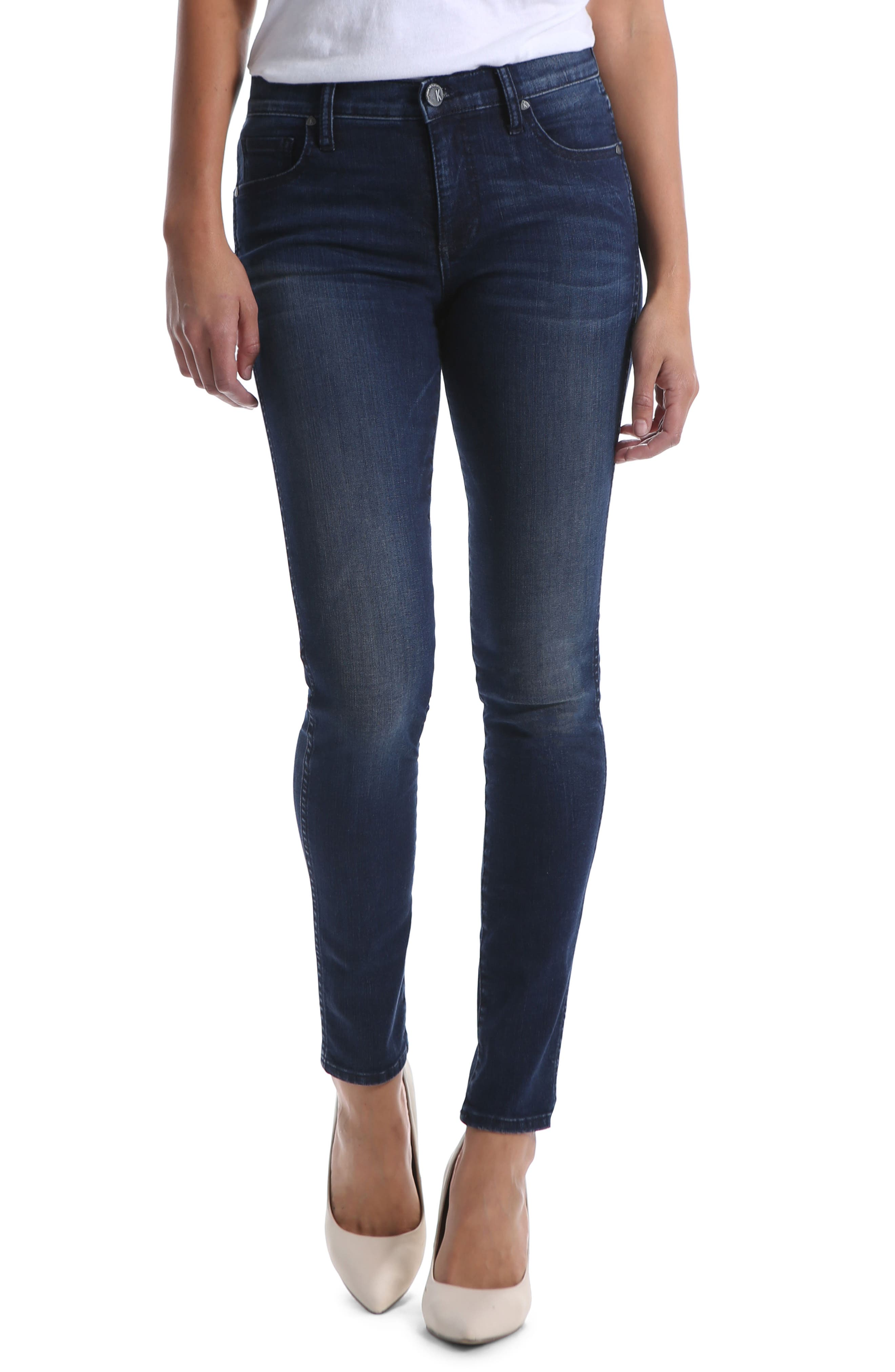 Kut From The Kloth Diana Fab Ab Fit Solution Skinny Jeans, Blue