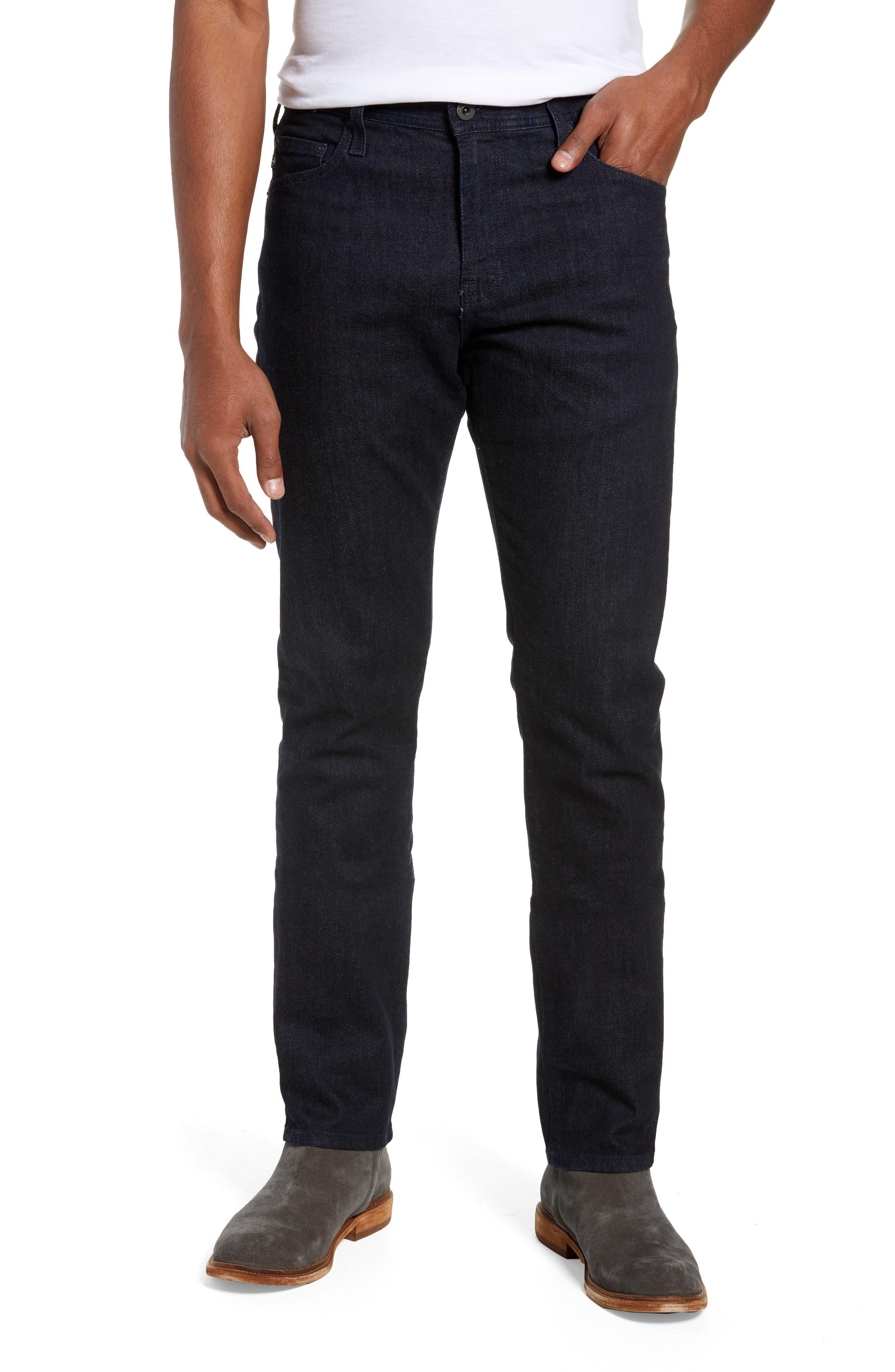 Everett Slim Straight Leg Jeans,                         Main,                         color, BARNES