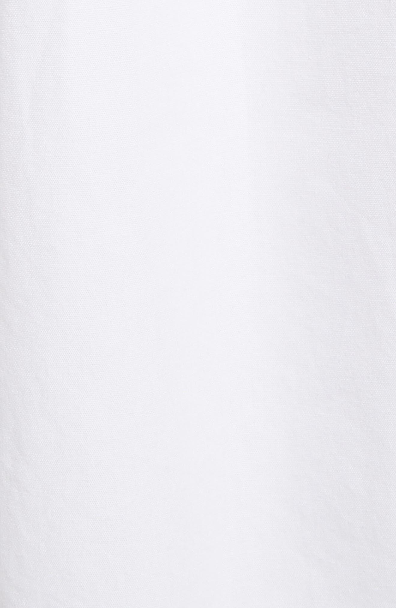 Pintuck Cotton Tunic,                             Alternate thumbnail 5, color,                             102