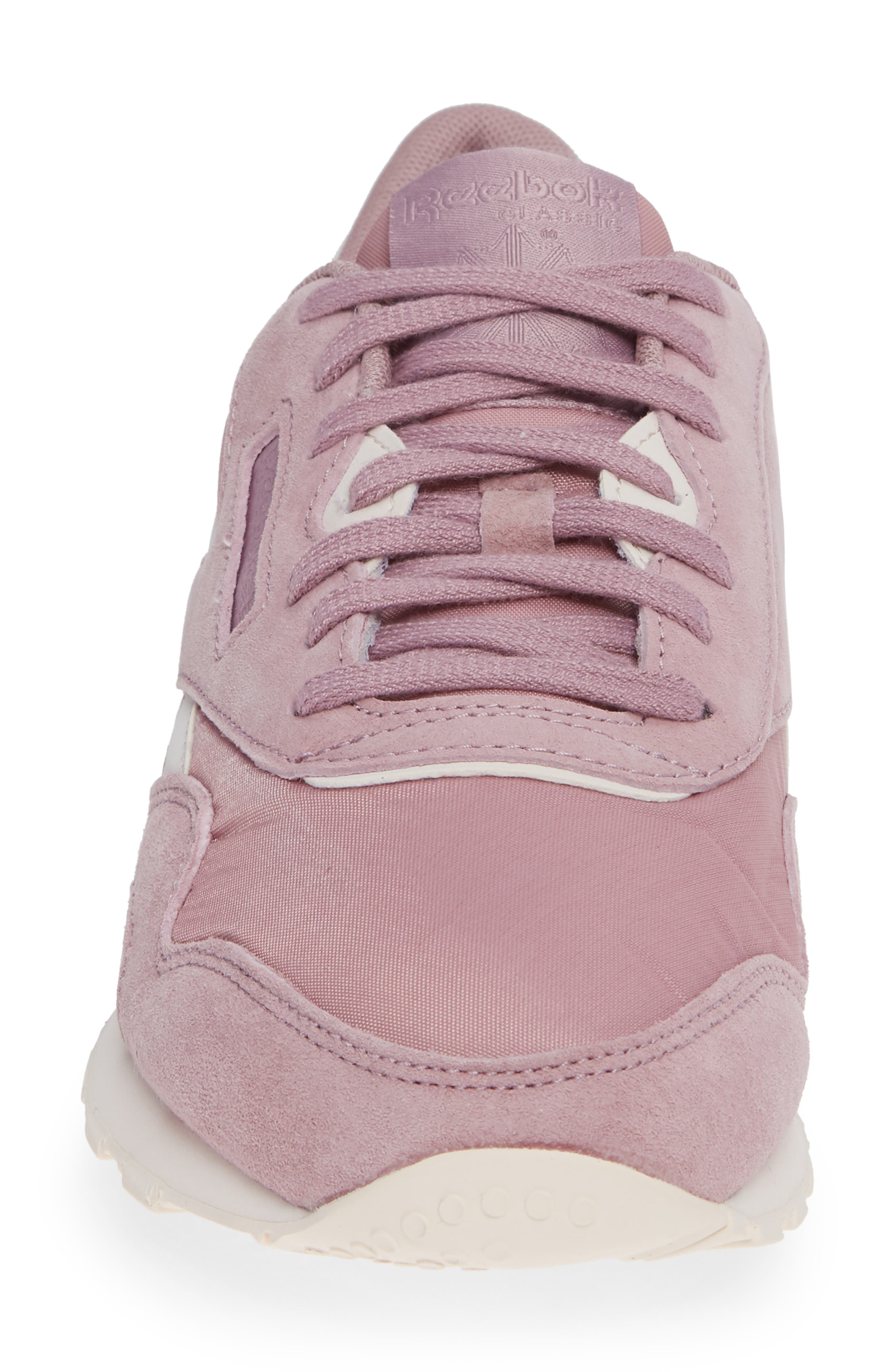 Classic Sneaker,                             Alternate thumbnail 4, color,                             INFUSED LILAC/ PALE PINK