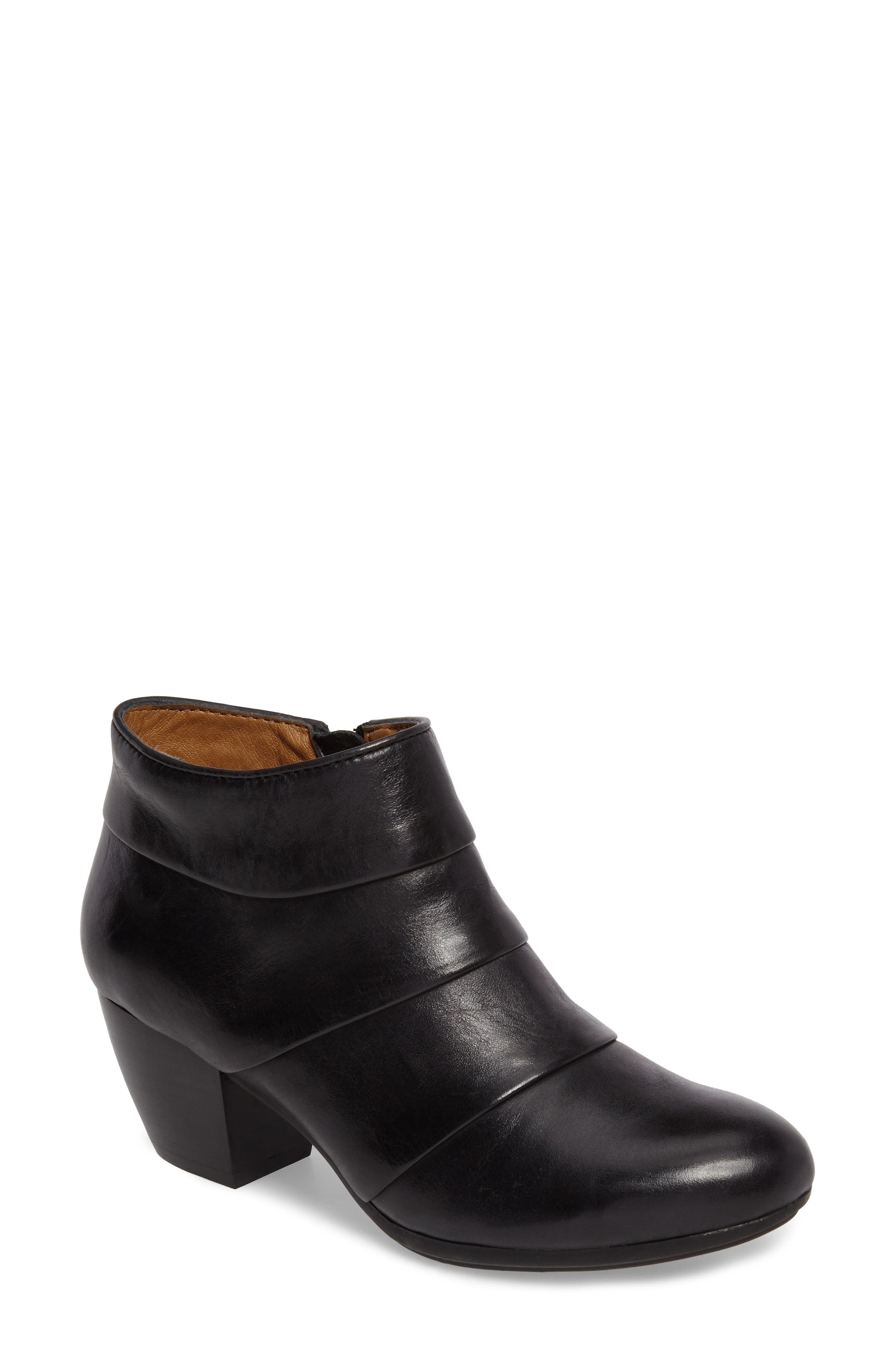 Amesbury Colorblock Bootie,                             Main thumbnail 1, color,                             001