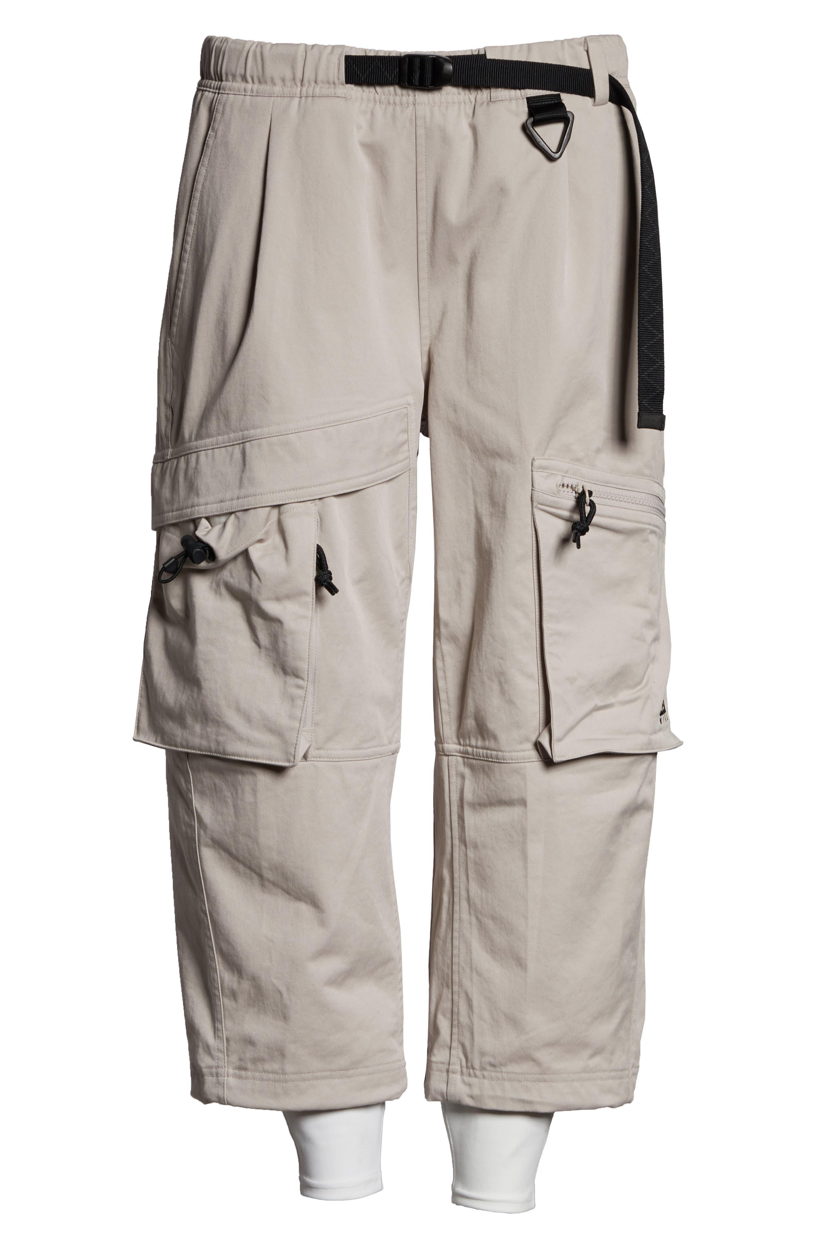 NIKE,                             ACG Women's Cargo Pants,                             Alternate thumbnail 7, color,                             MOON PARTICLE