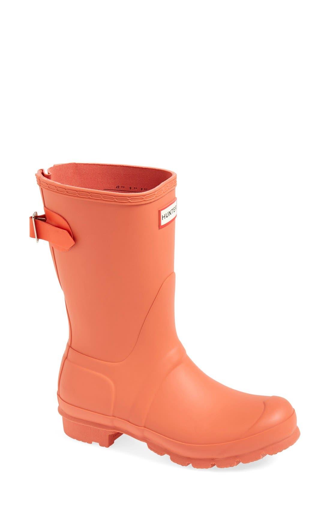 Original Short Back Adjustable Rain Boot,                             Main thumbnail 15, color,